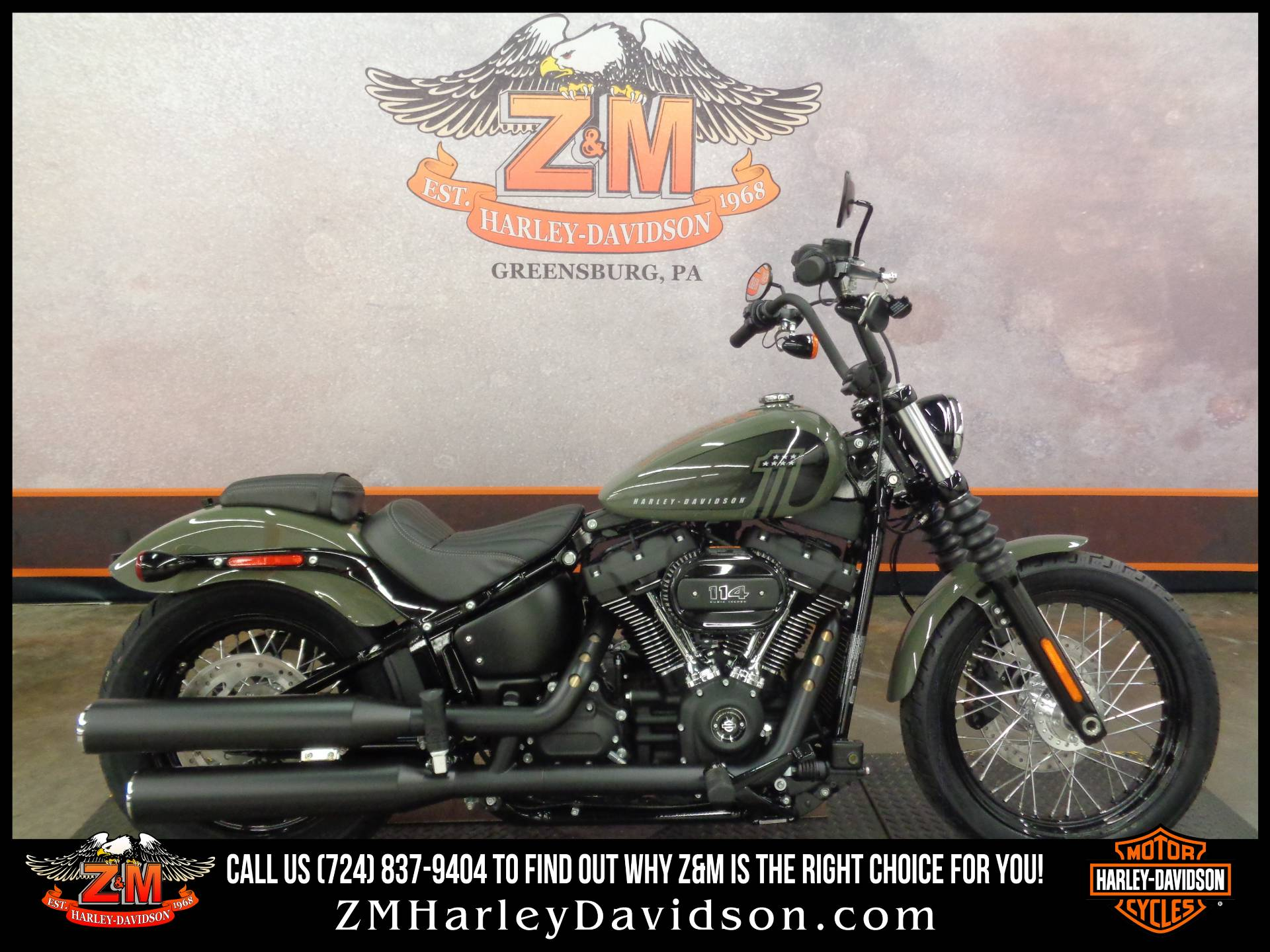 2021 Harley-Davidson Street Bob® 114 in Greensburg, Pennsylvania - Photo 1
