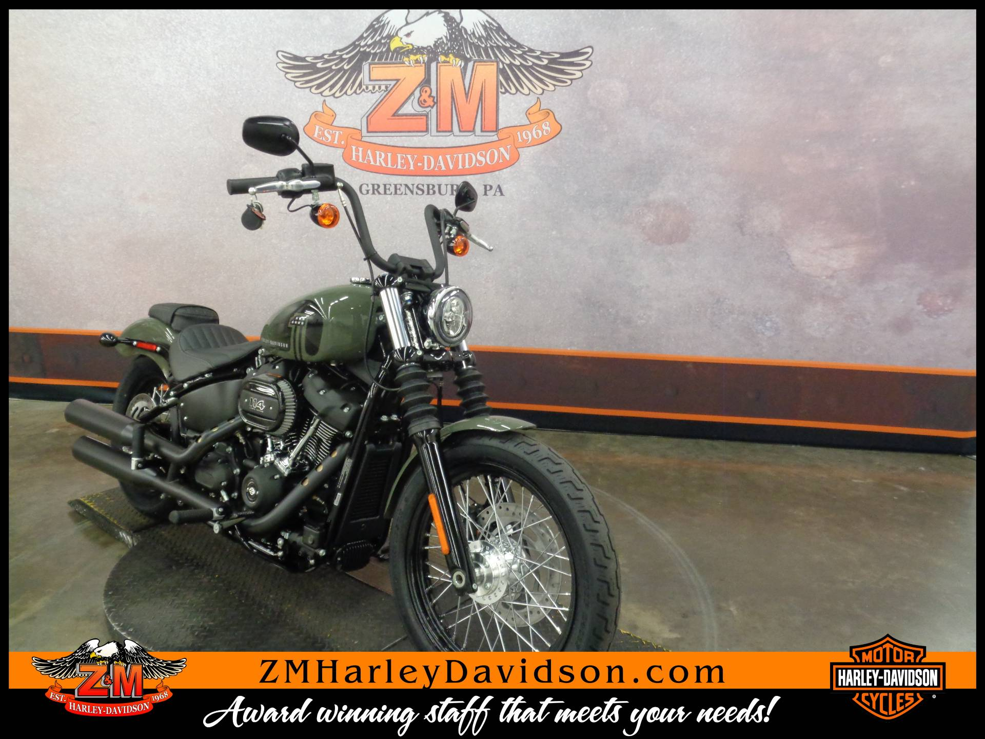 2021 Harley-Davidson Street Bob® 114 in Greensburg, Pennsylvania - Photo 2