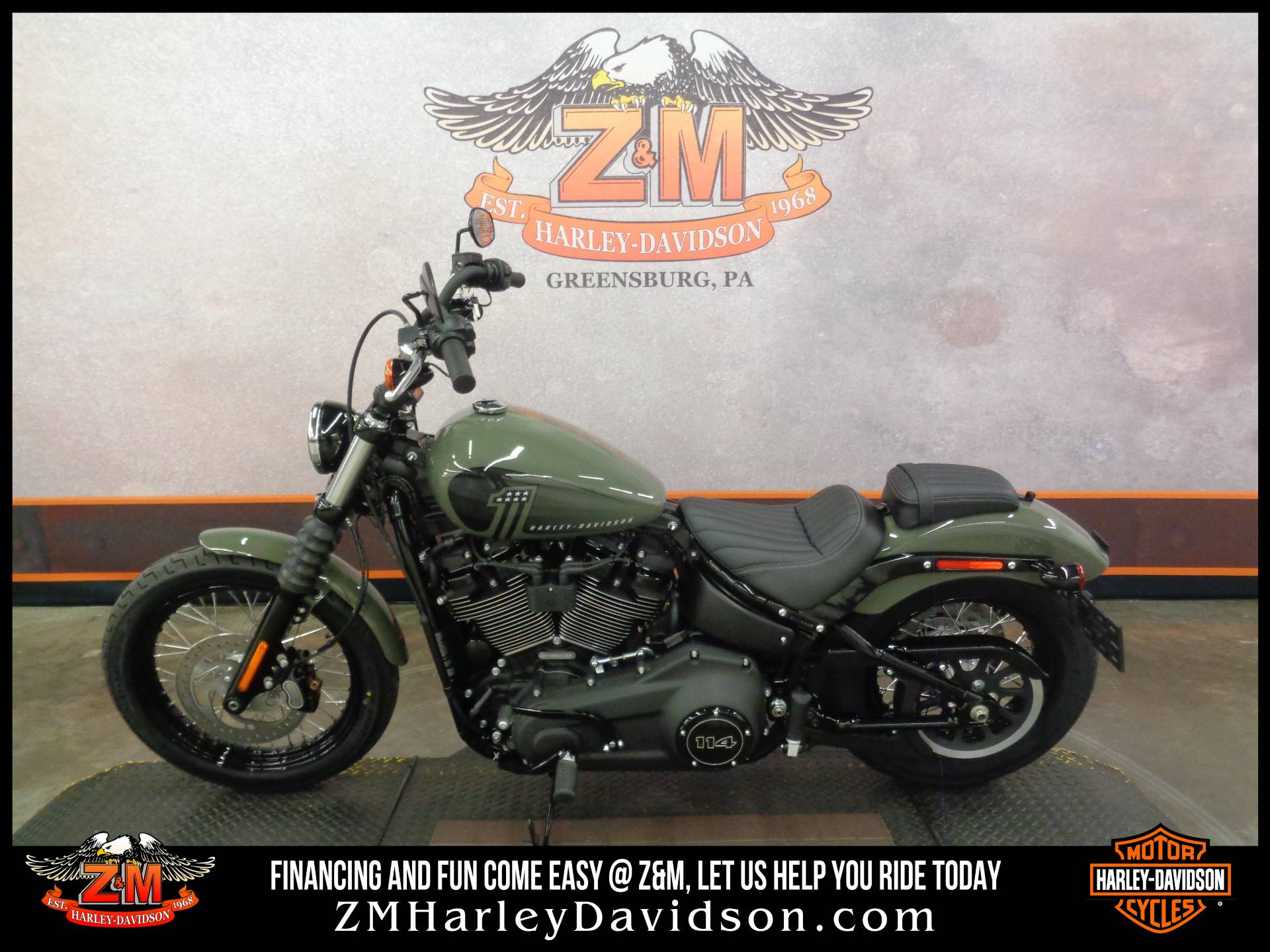 2021 Harley-Davidson Street Bob® 114 in Greensburg, Pennsylvania - Photo 4