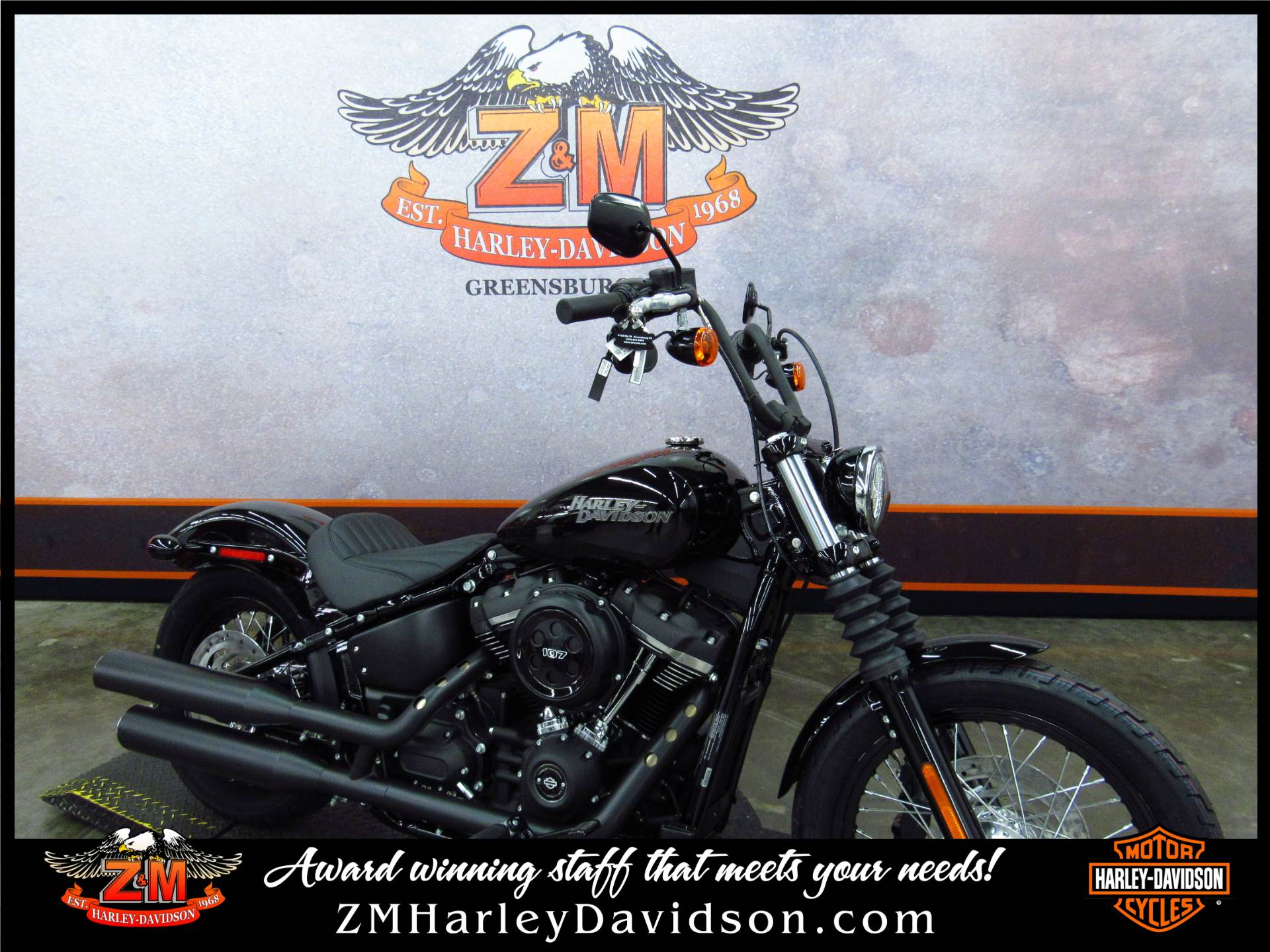 2019 Harley-Davidson Street Bob® in Greensburg, Pennsylvania - Photo 2
