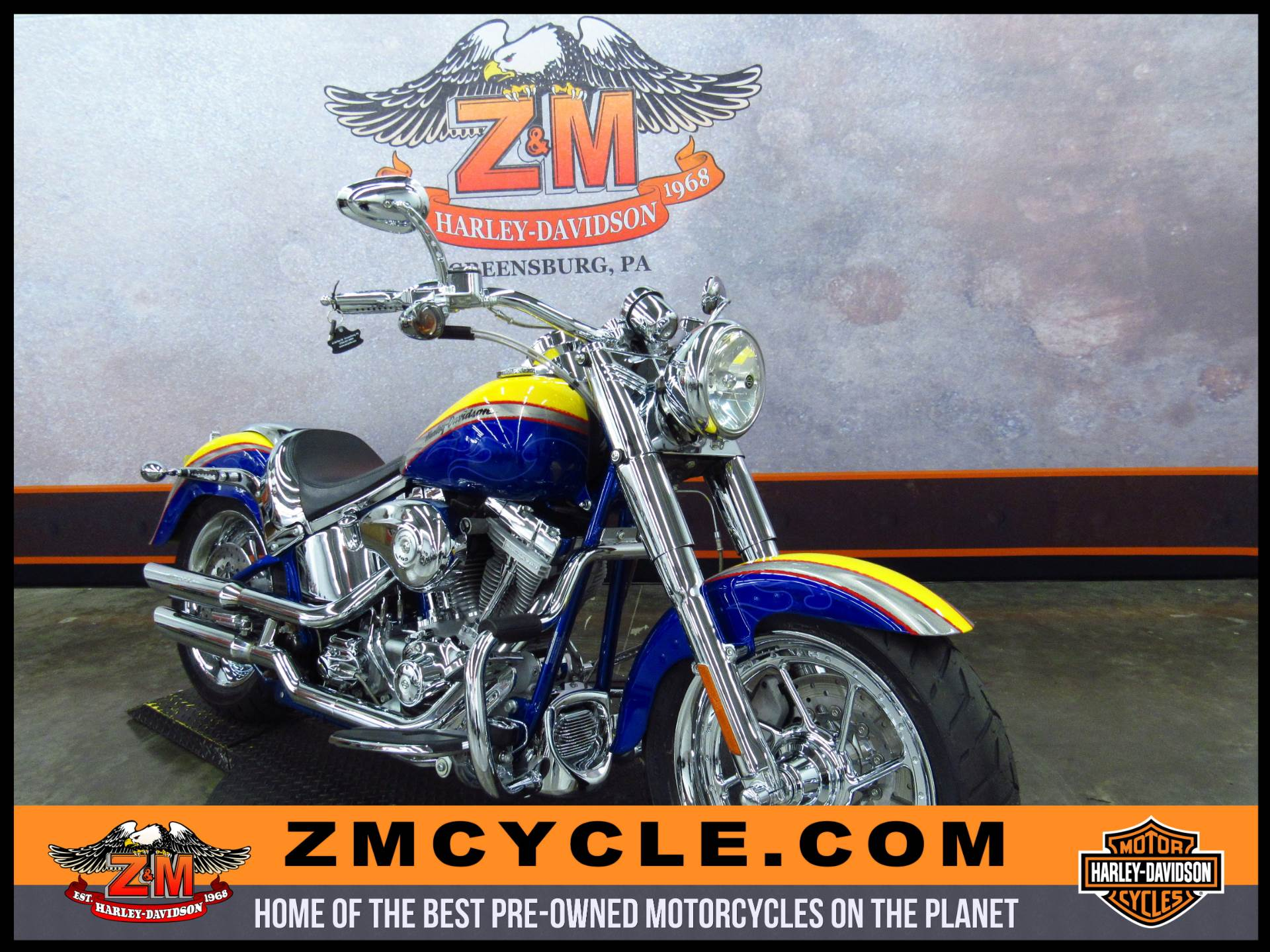 2006 CVO Screamin' Eagle Fat Boy
