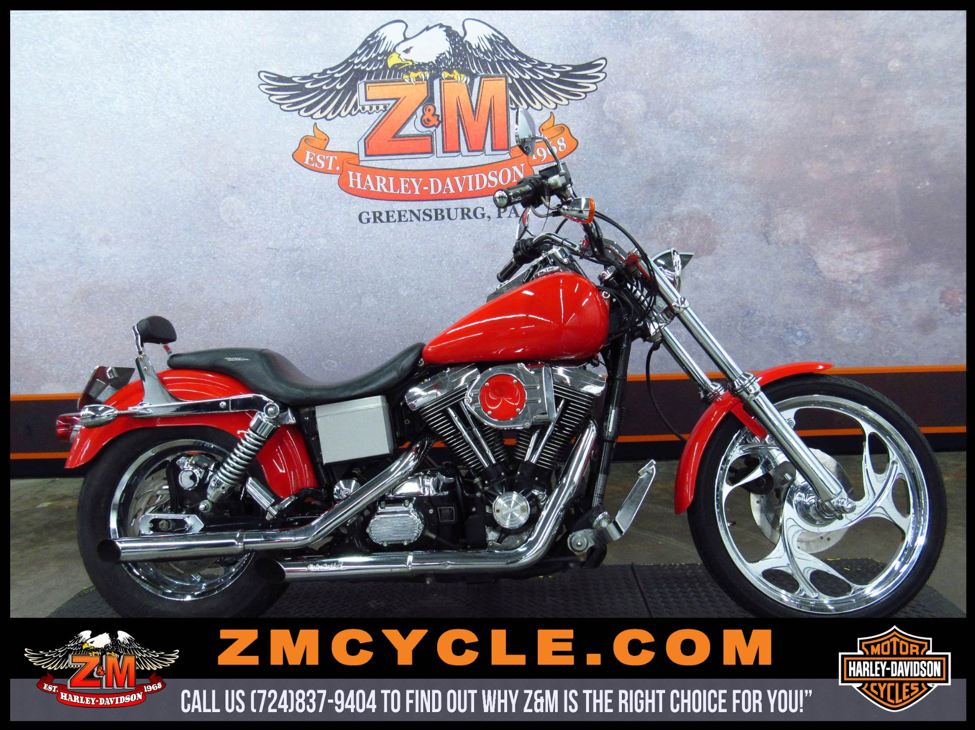 1997 Dyna Wide Glide FXDWG