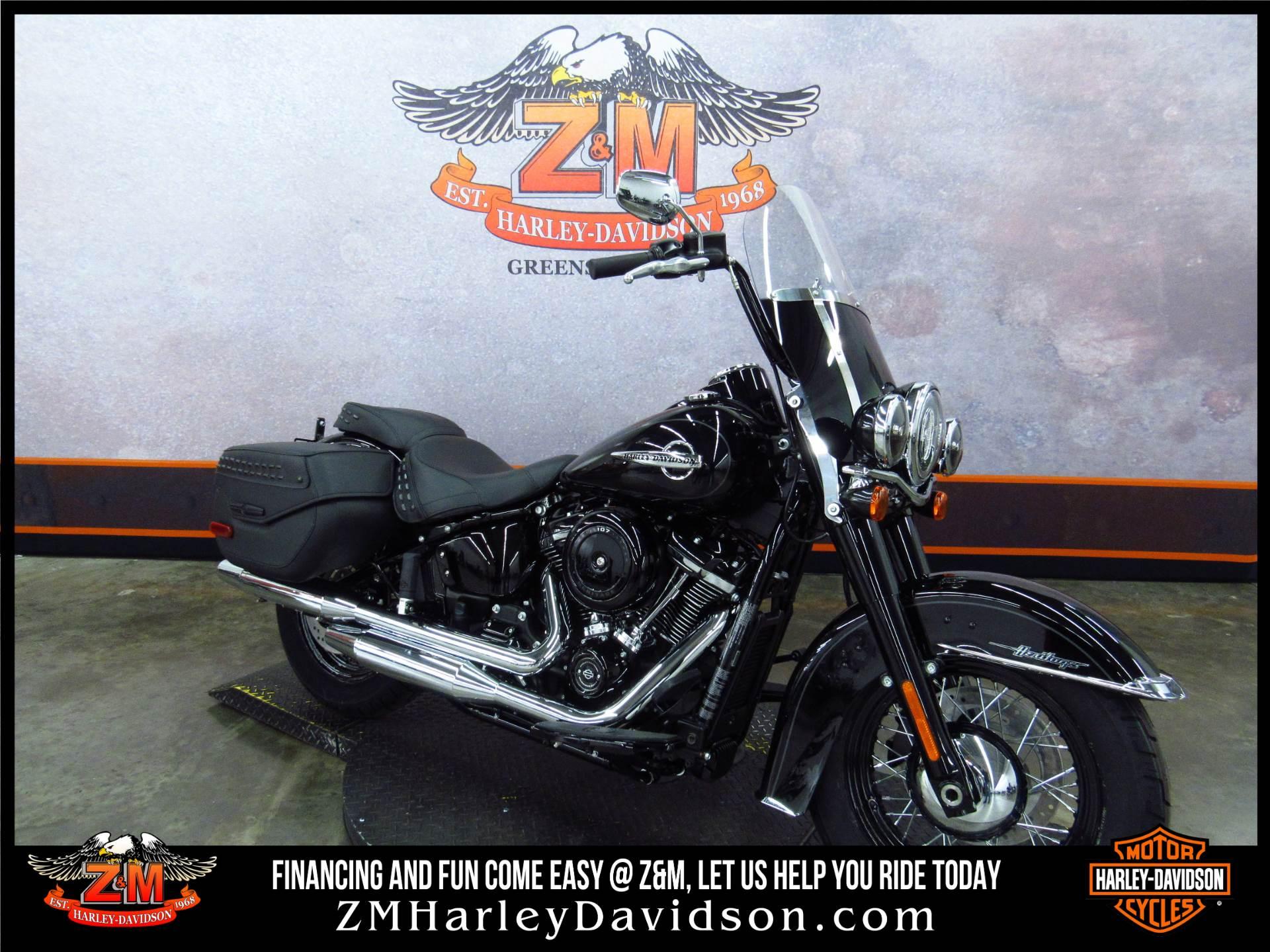 2018 Harley-Davidson Heritage Clic 107 Motorcycles Greensburg ...