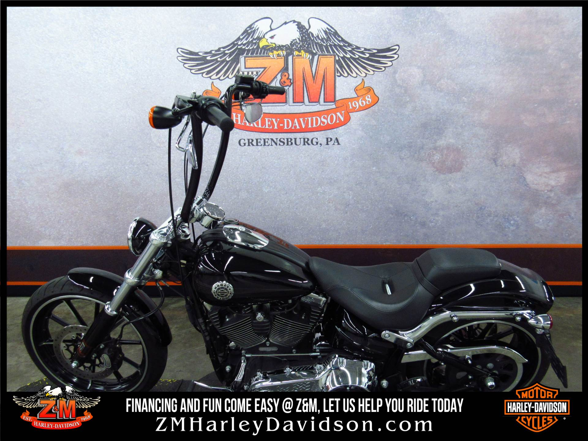 2015 Harley-Davidson Breakout® in Greensburg, Pennsylvania