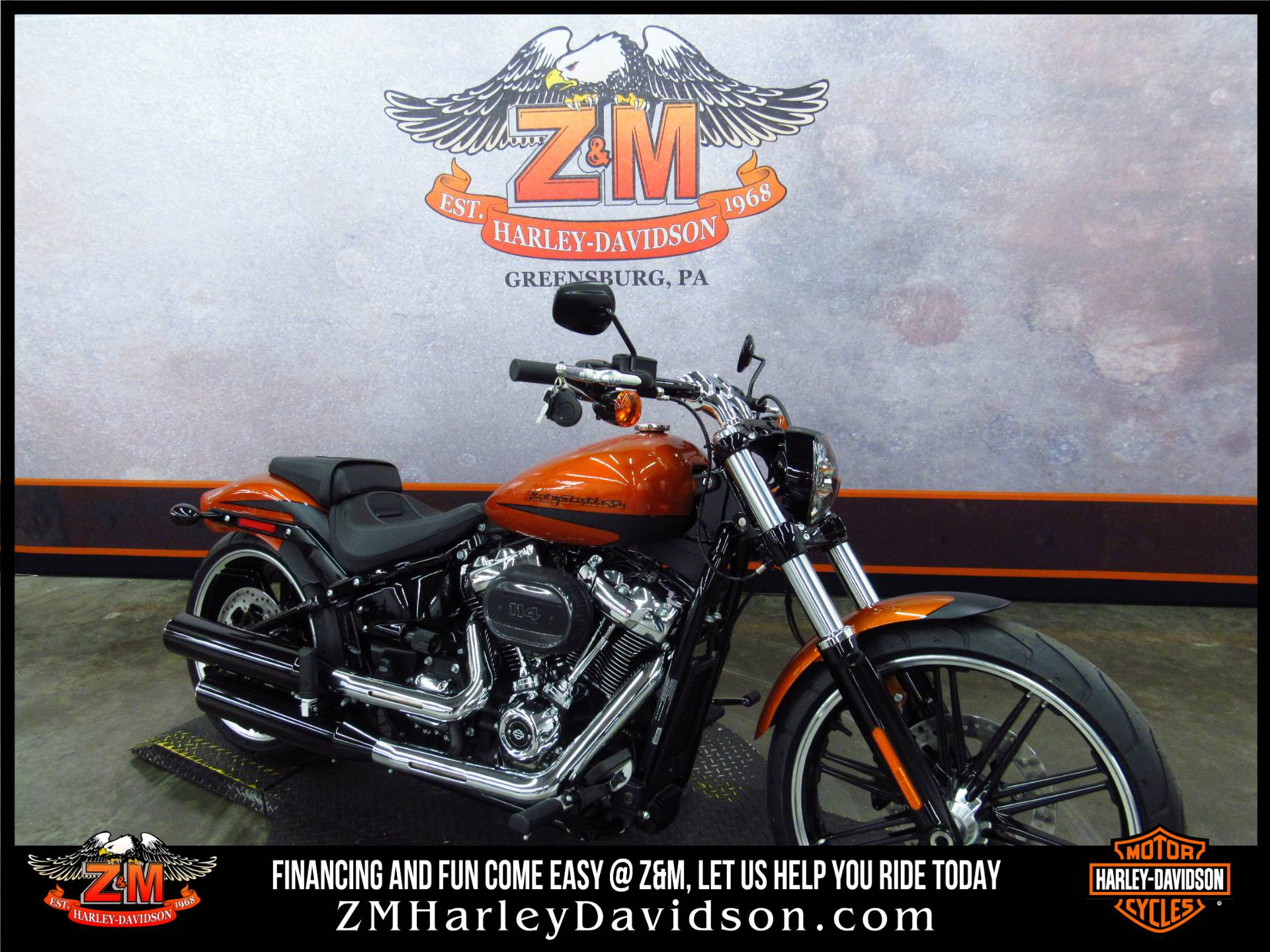 2019 Harley-Davidson Breakout® 114 in Greensburg, Pennsylvania - Photo 2