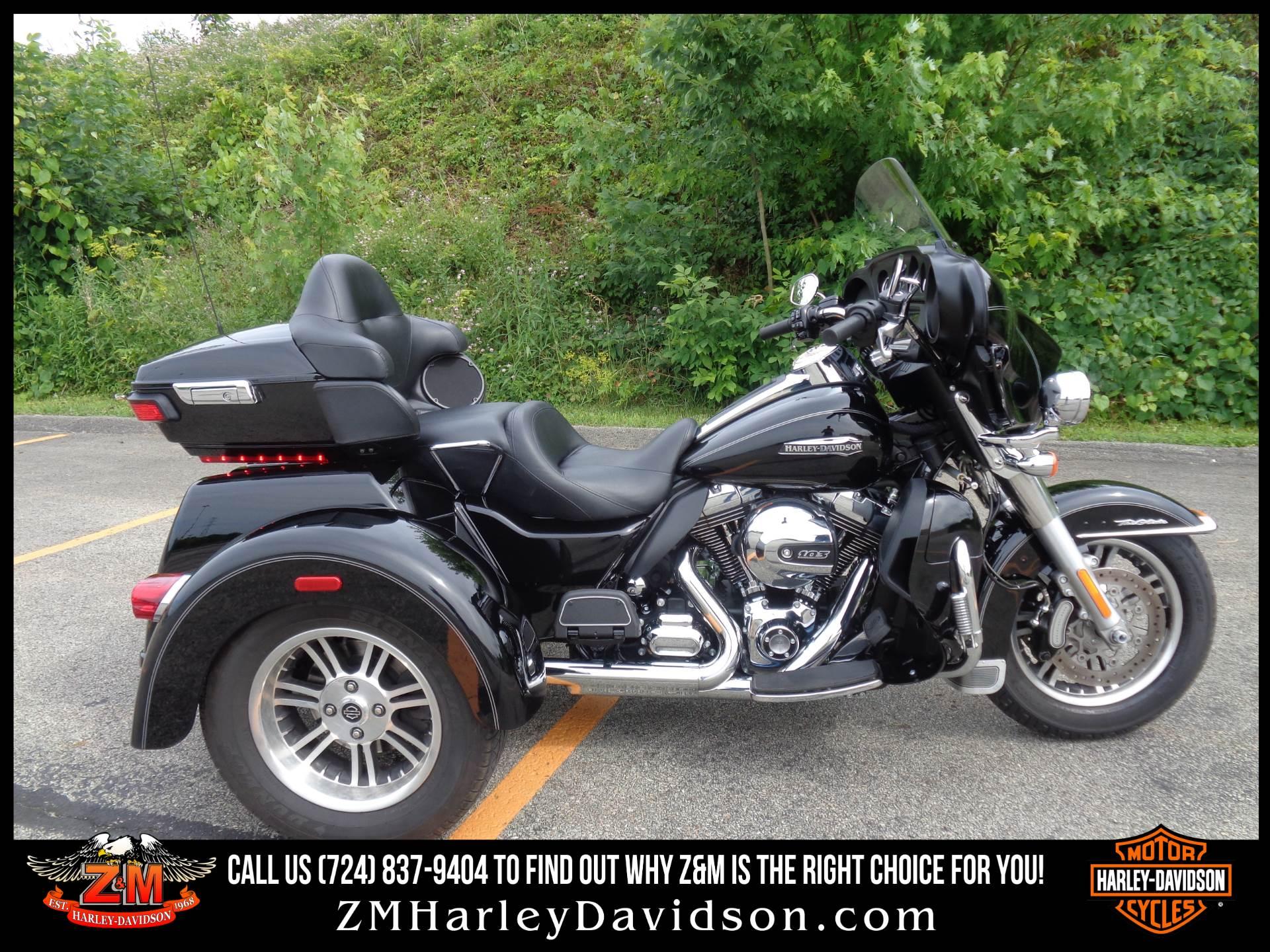 2016 Harley-Davidson Tri Glide® Ultra in Greensburg, Pennsylvania