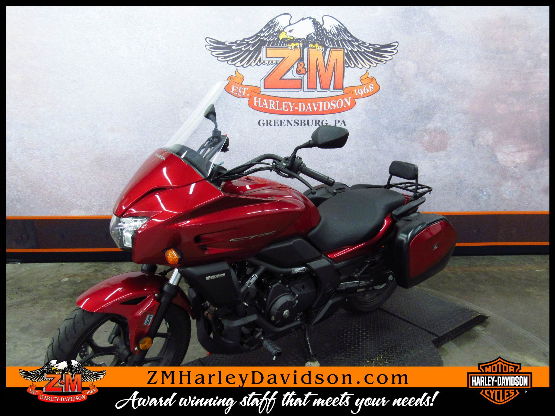 2014 Honda CTX®700 in Greensburg, Pennsylvania - Photo 5