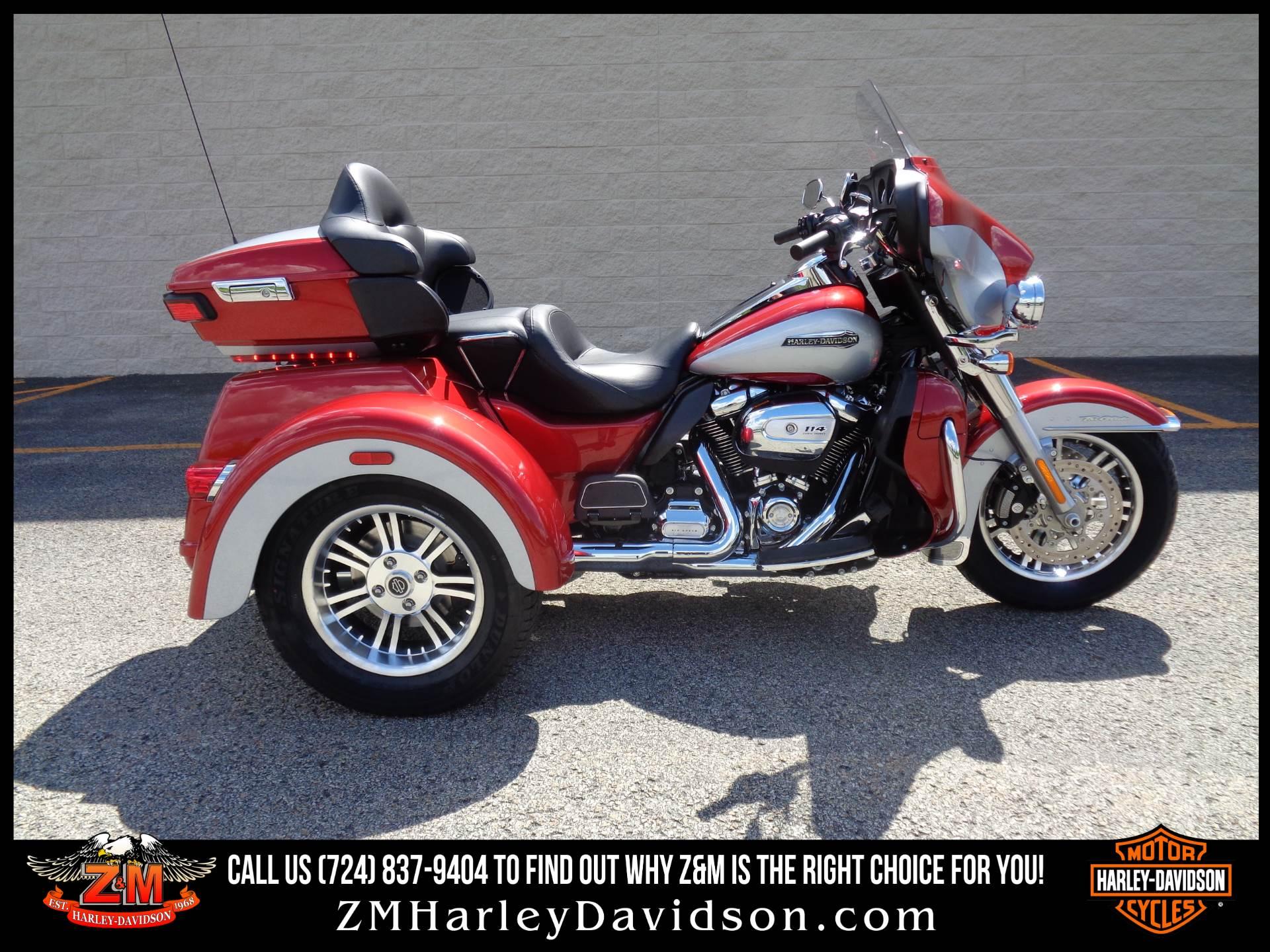 2019 Harley Davidson Tri Glide Ultra Trikes Greensburg Pennsylvania