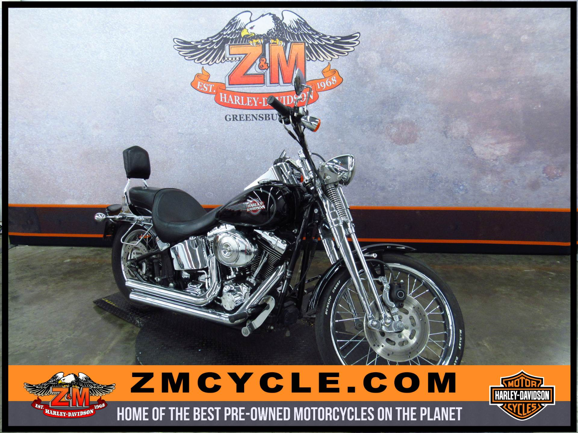 2005 FXSTS/FXSTSI Springer Softail