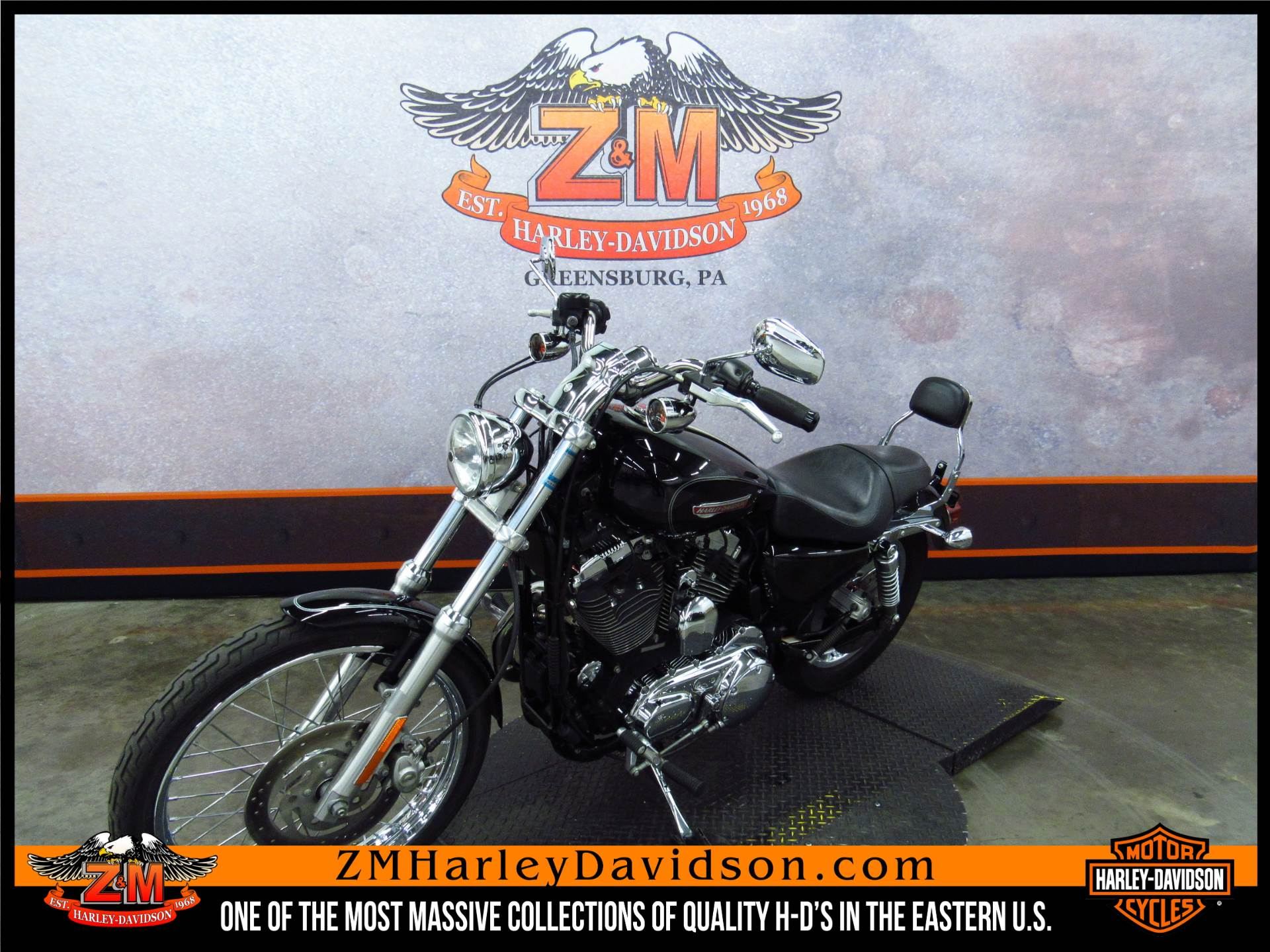 2010 Harley-Davidson Sportster® 1200 Custom in Greensburg, Pennsylvania