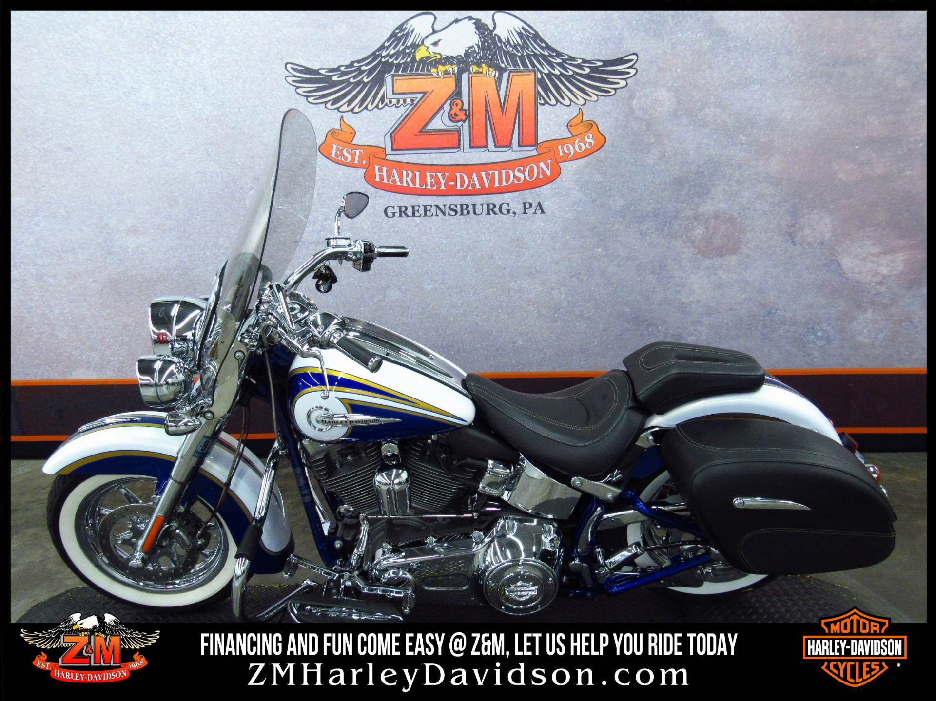 2014 Harley-Davidson CVO™ Softail® Deluxe in Greensburg, Pennsylvania