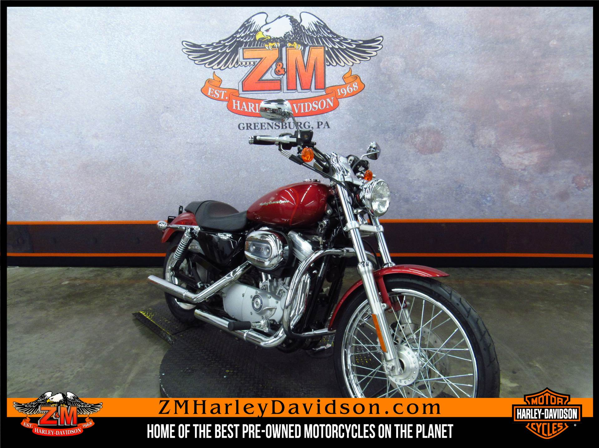 2004 Sportster XL 883 Custom