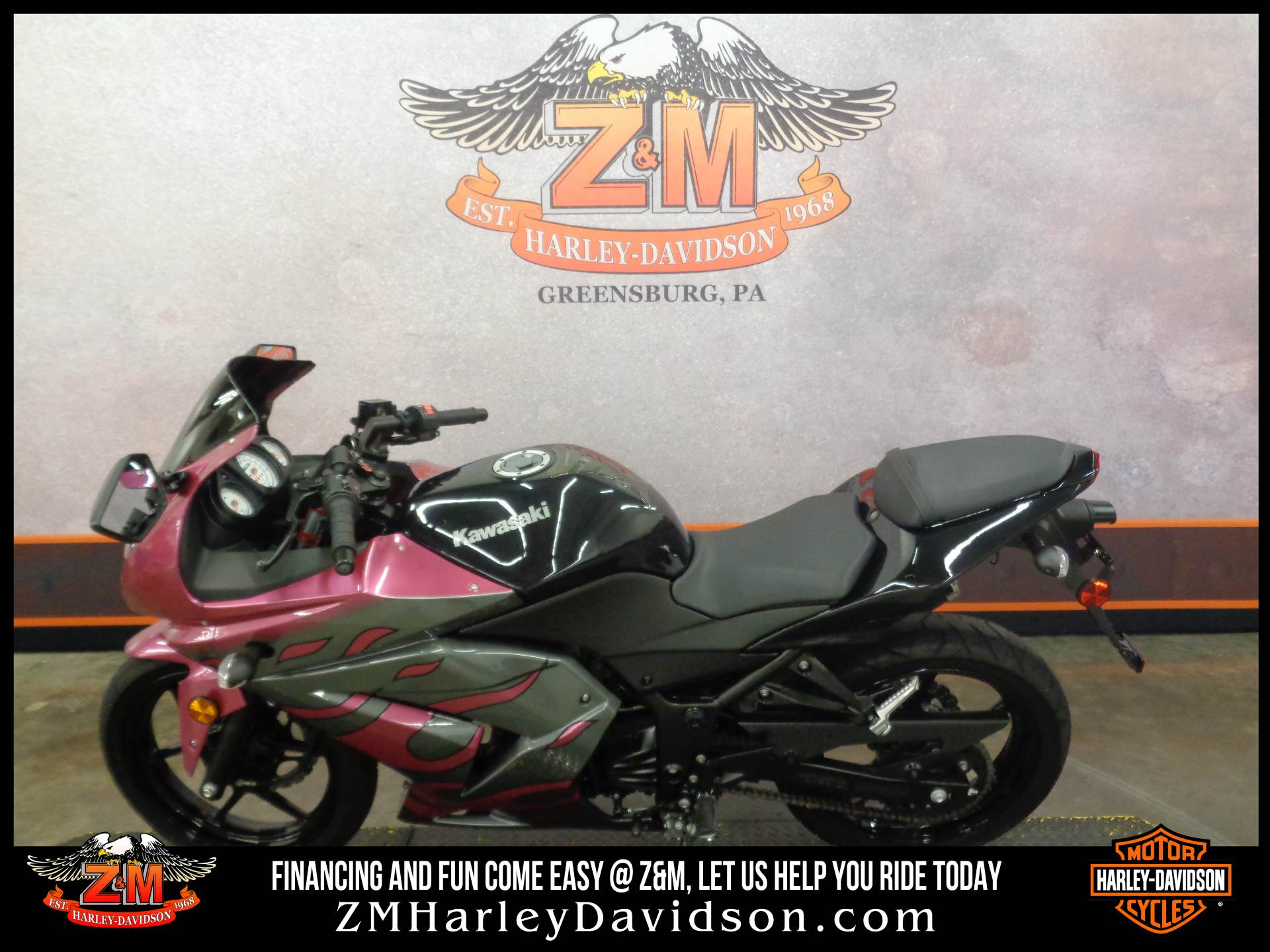 2012 Kawasaki Ninja® 250R in Greensburg, Pennsylvania - Photo 4