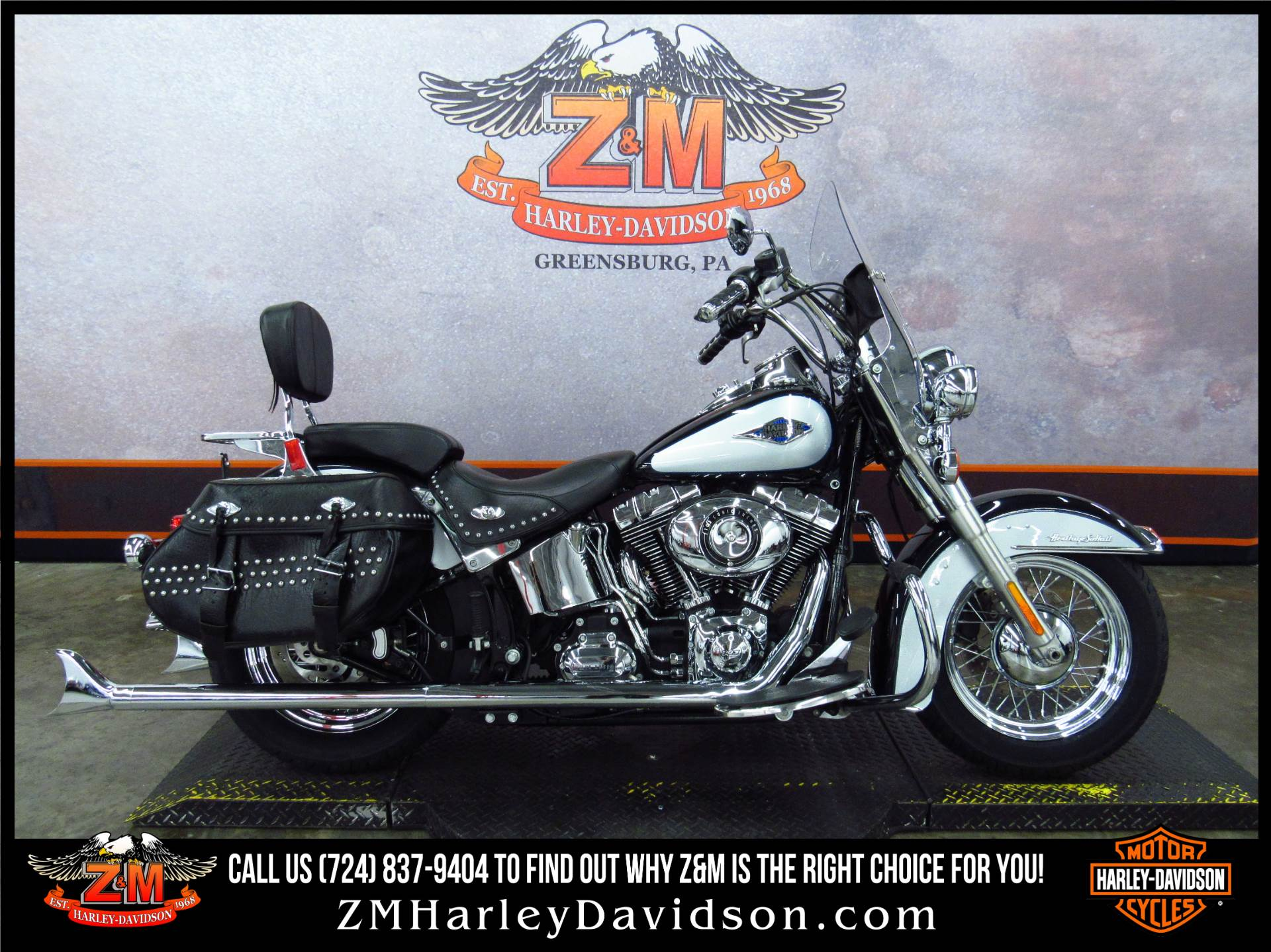 2012 Harley Davidson Heritage Softail Classic Motorcycles In Greensburg Pennsylvania