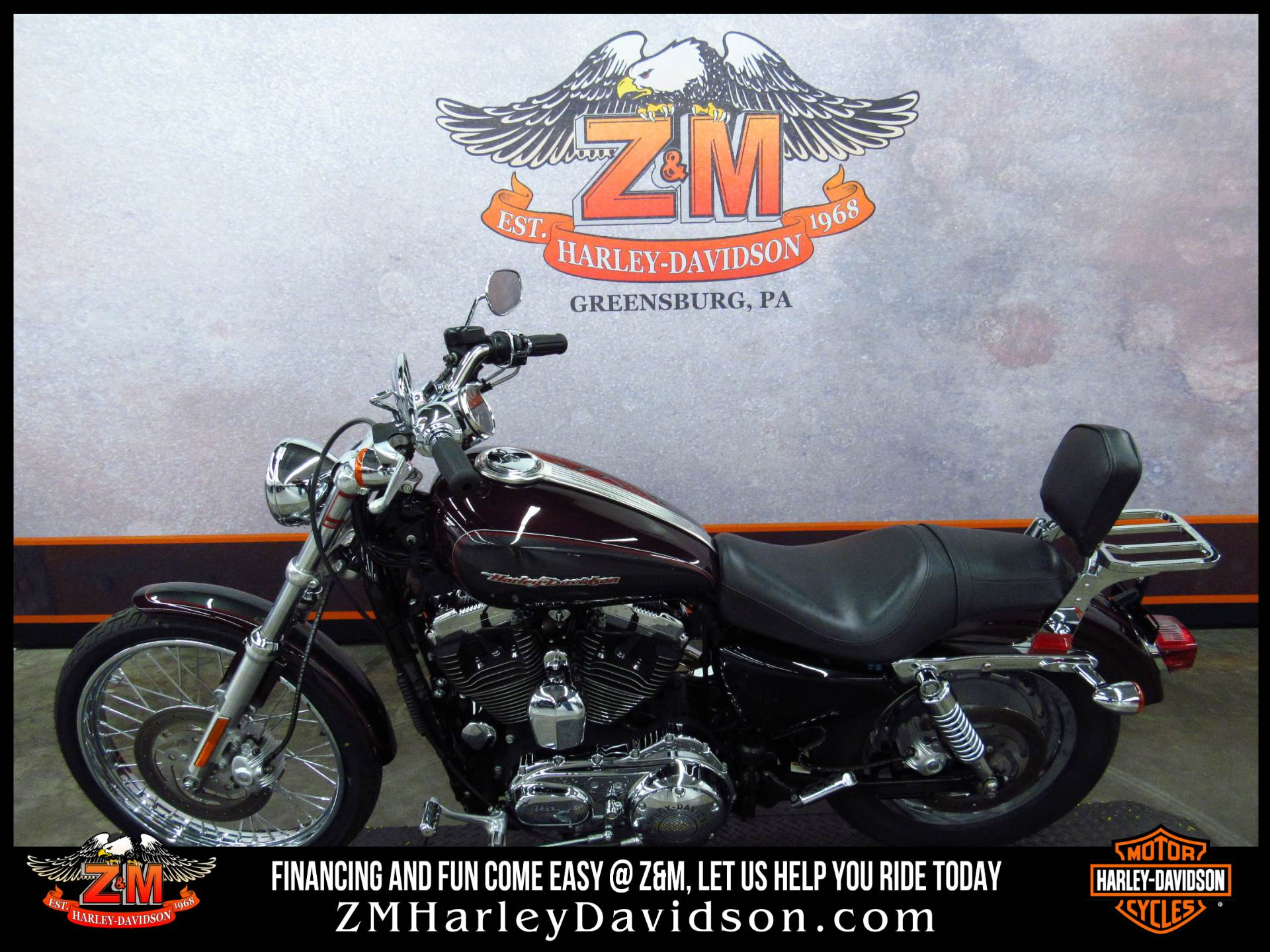 2005 Harley-Davidson Sportster® XL 1200 Custom in Greensburg, Pennsylvania - Photo 4