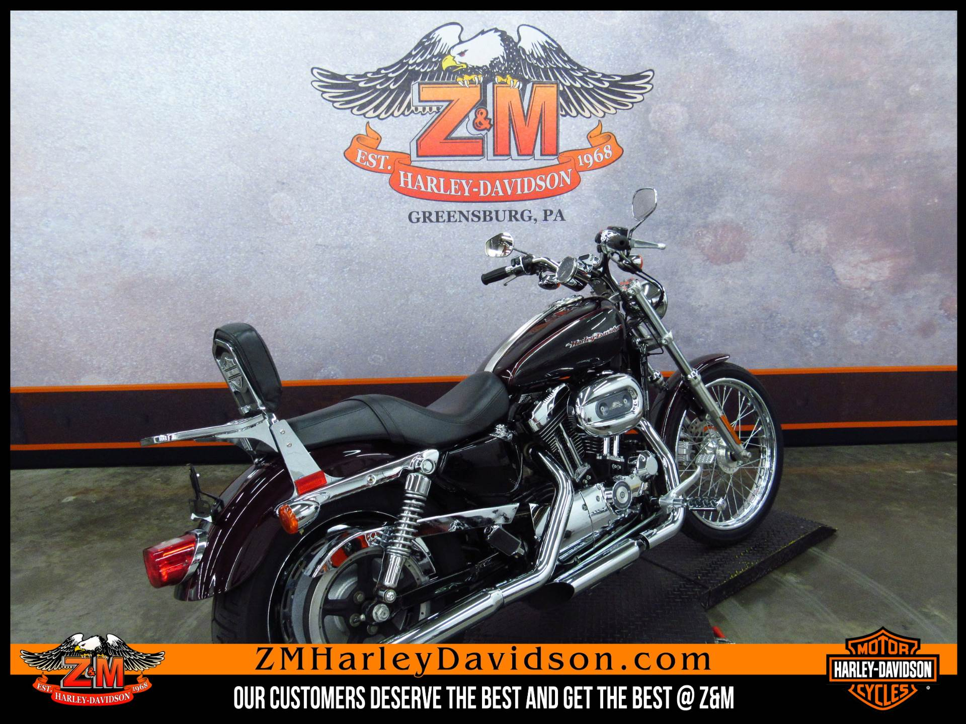 2005 Harley-Davidson Sportster® XL 1200 Custom in Greensburg, Pennsylvania - Photo 3