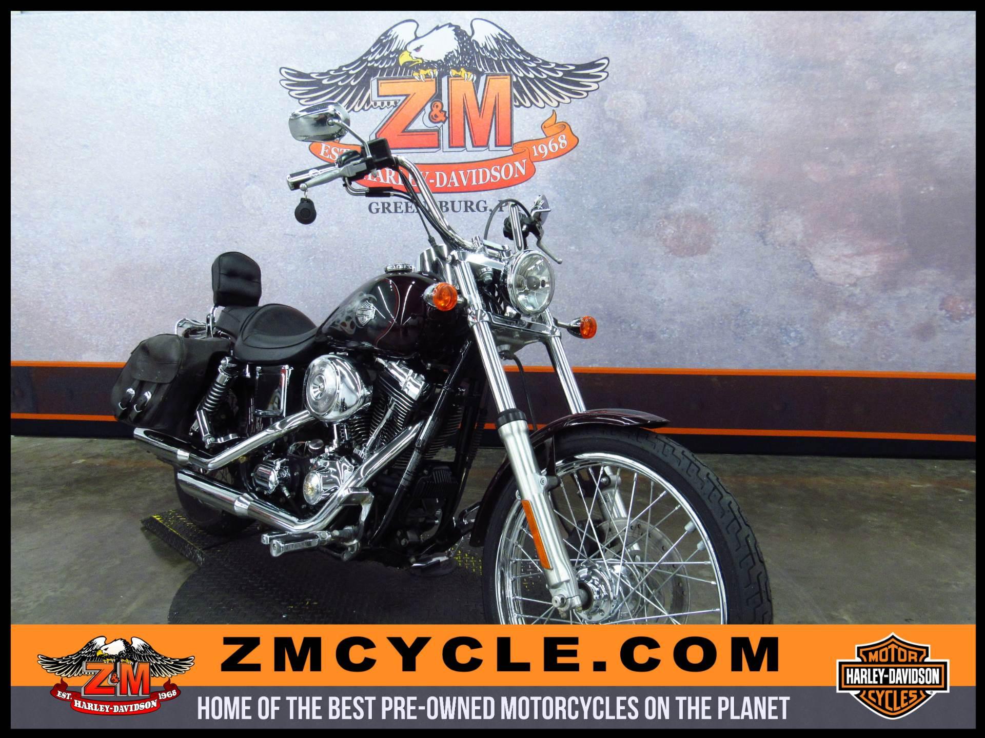 2005 FXDWG/FXDWGI Dyna Wide Glide