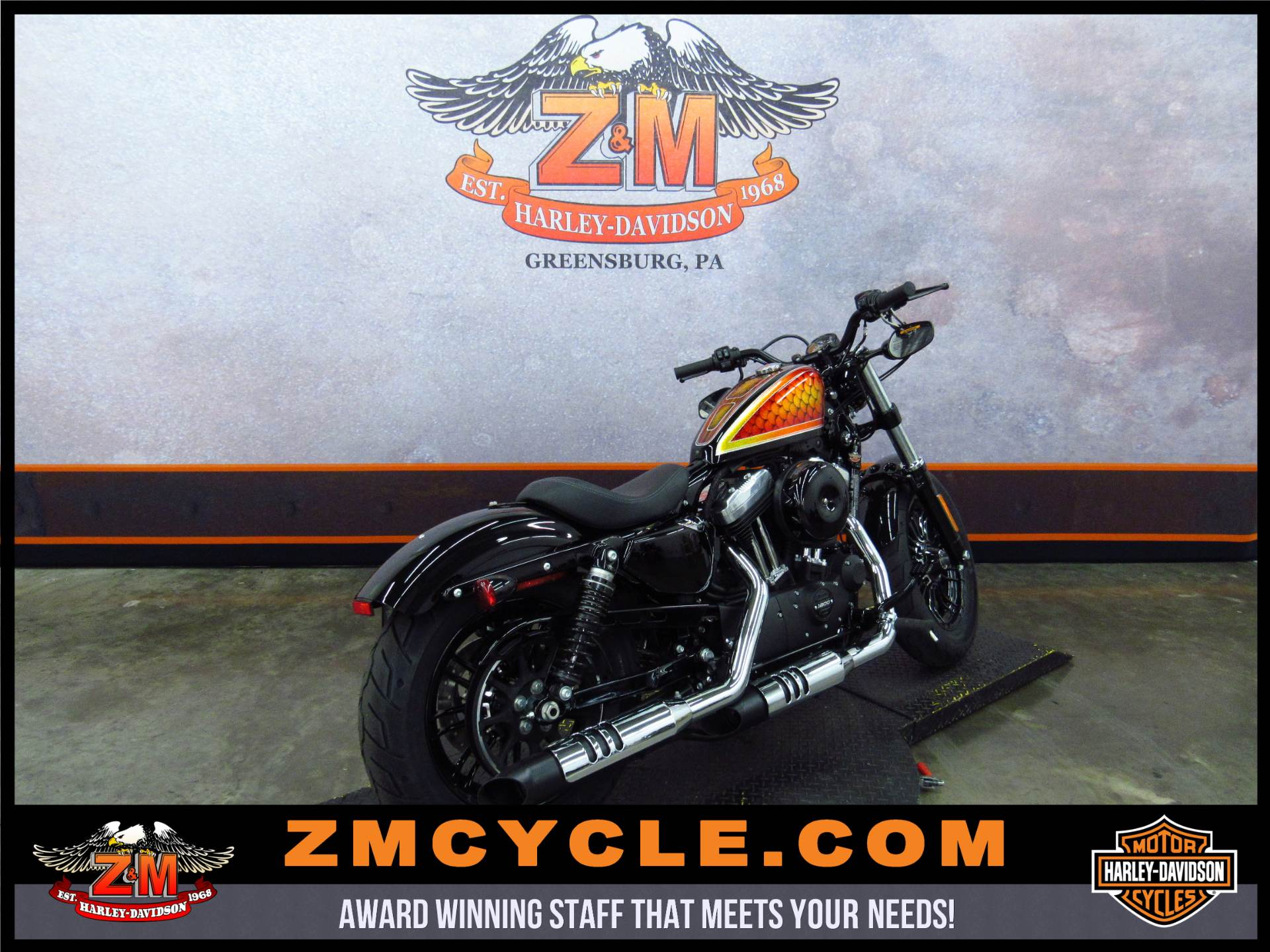 2017 Harley-Davidson Forty-Eight in Greensburg, Pennsylvania