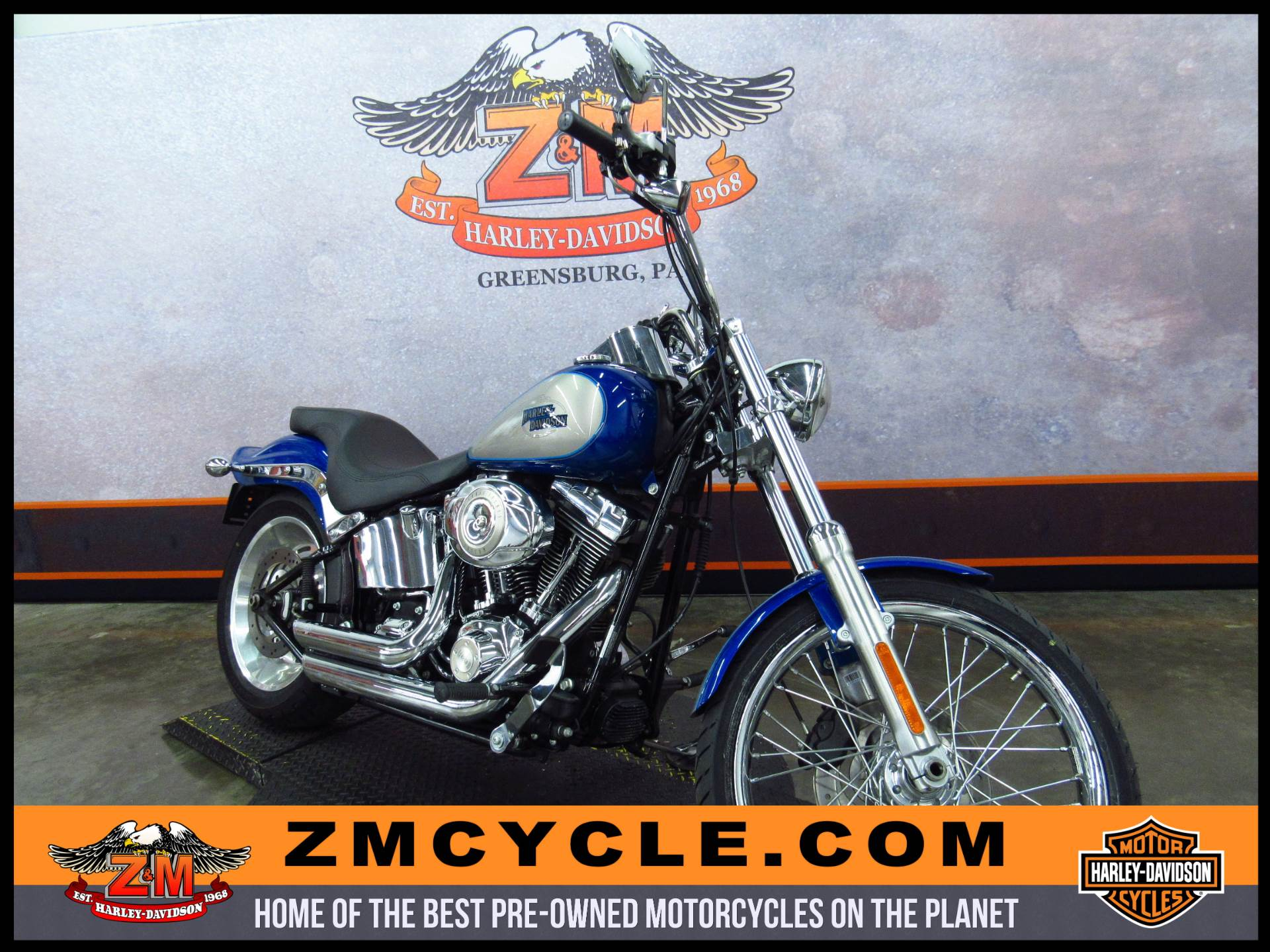 2009 Softail Custom