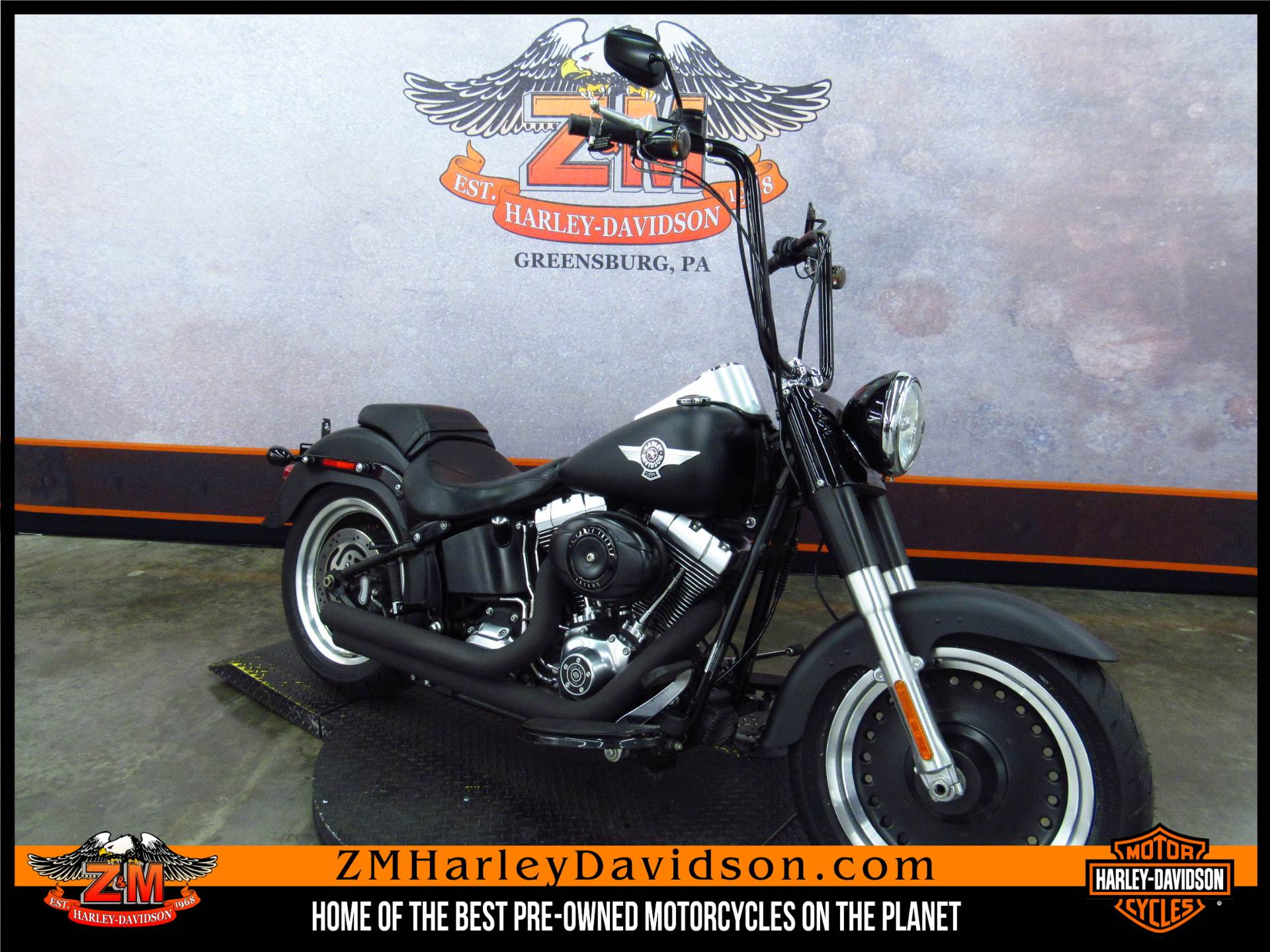 2010 Softail Fat Boy Lo