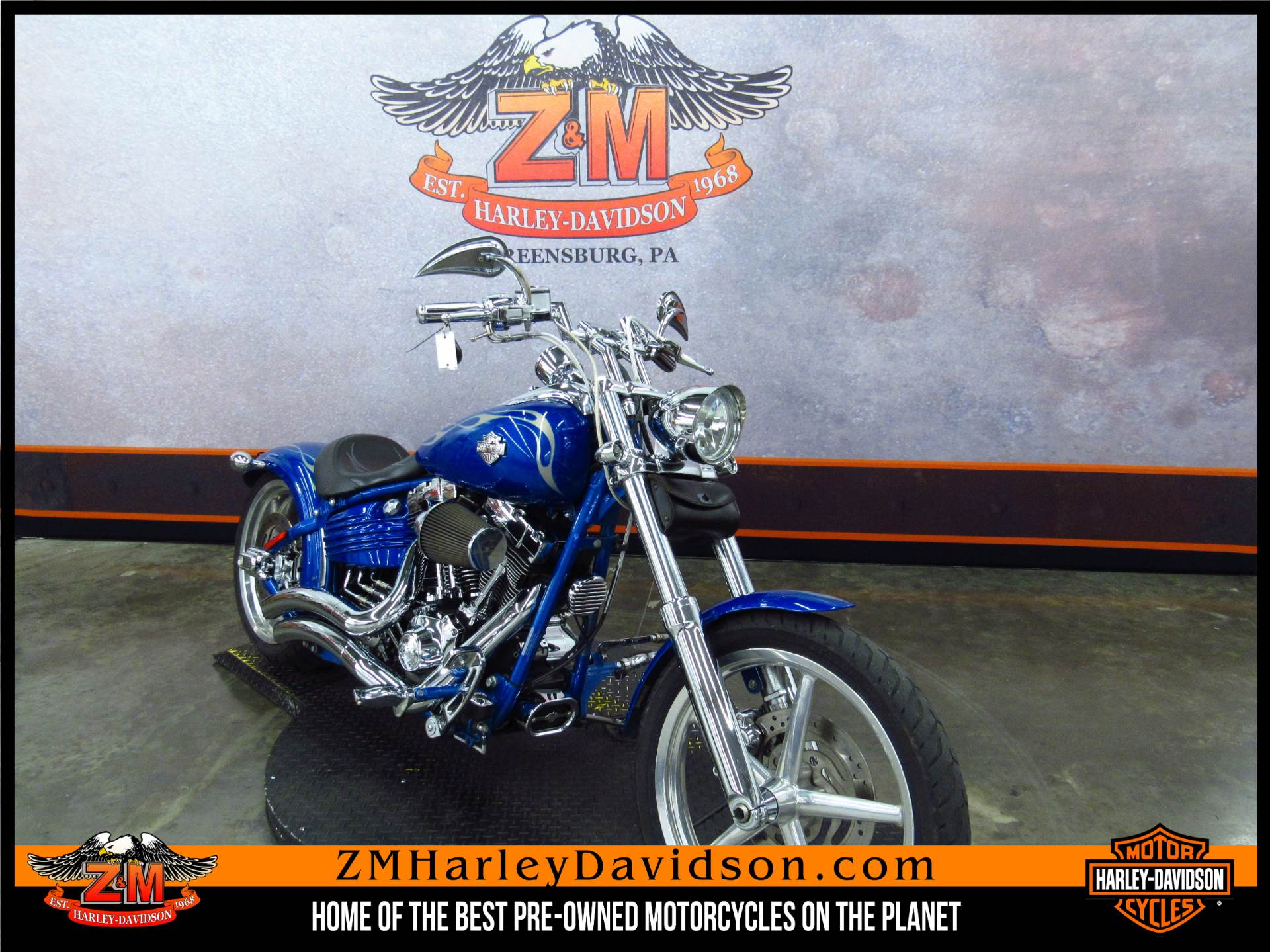 2008 Softail Rocker