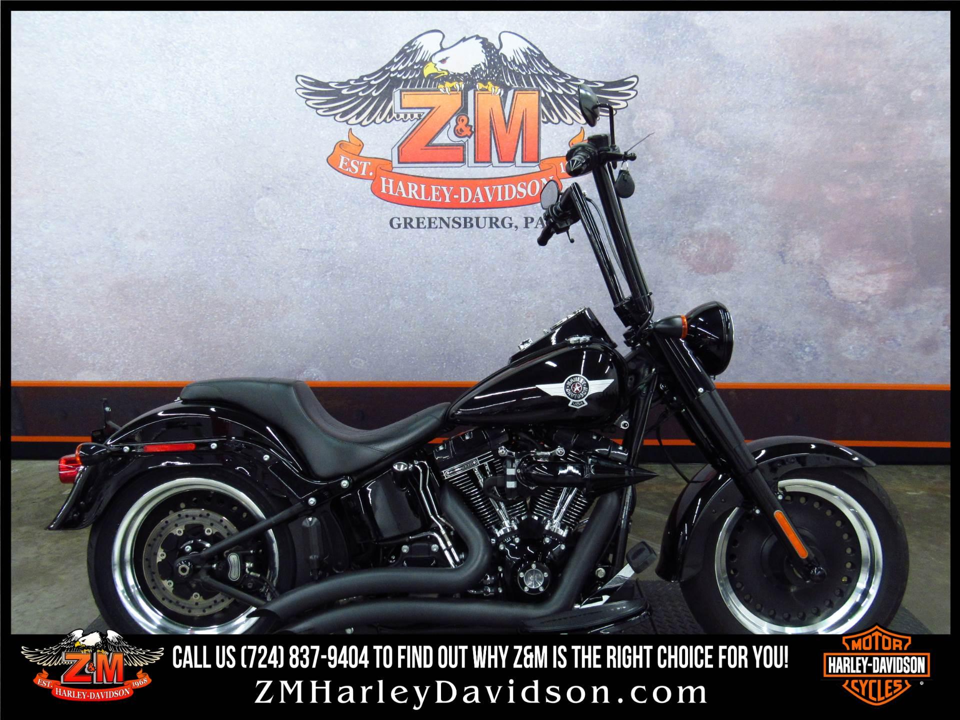 2016 Harley Davidson Softail Slim S Flss