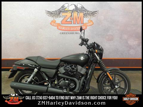 2015 Harley-Davidson Street™ 750 in Greensburg, Pennsylvania