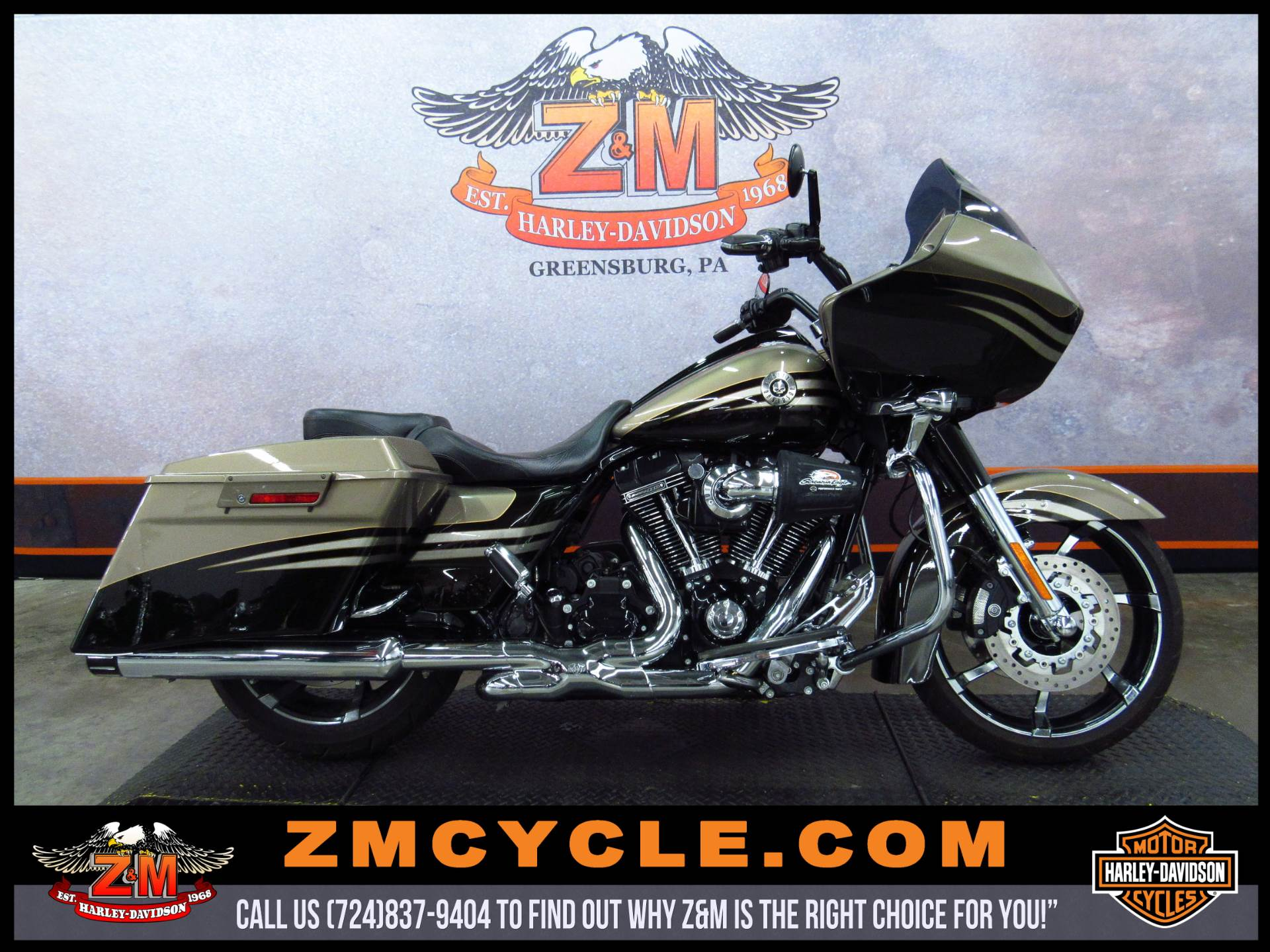 2013 Harley-Davidson CVO Road Glide Custom 1
