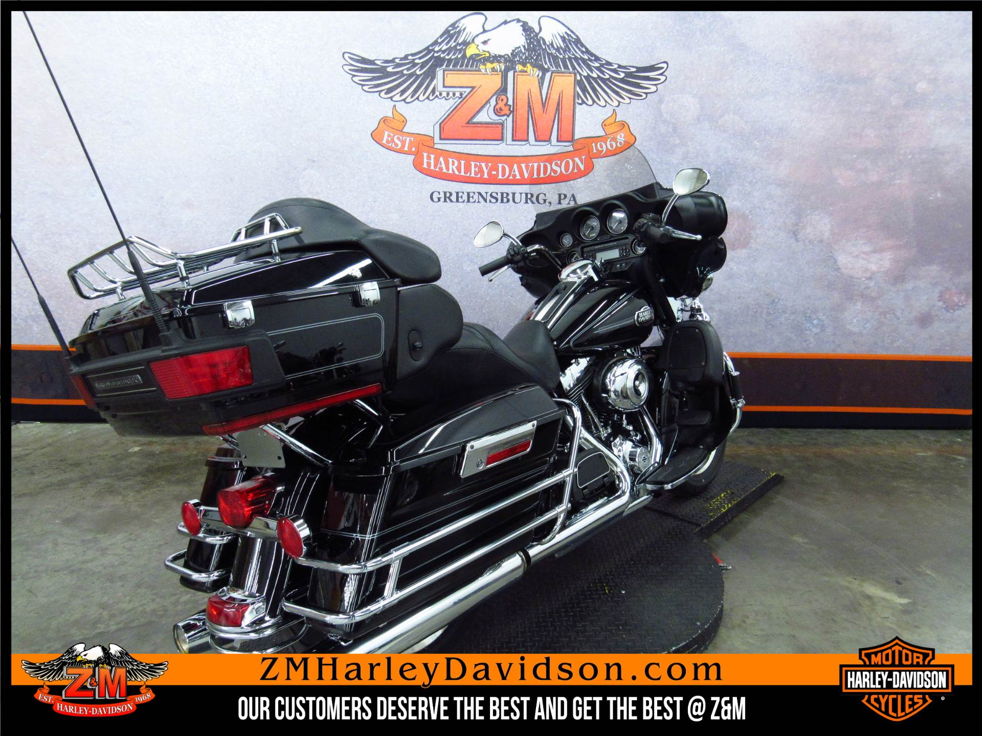 2013 Harley-Davidson Ultra Classic® Electra Glide® in Greensburg, Pennsylvania