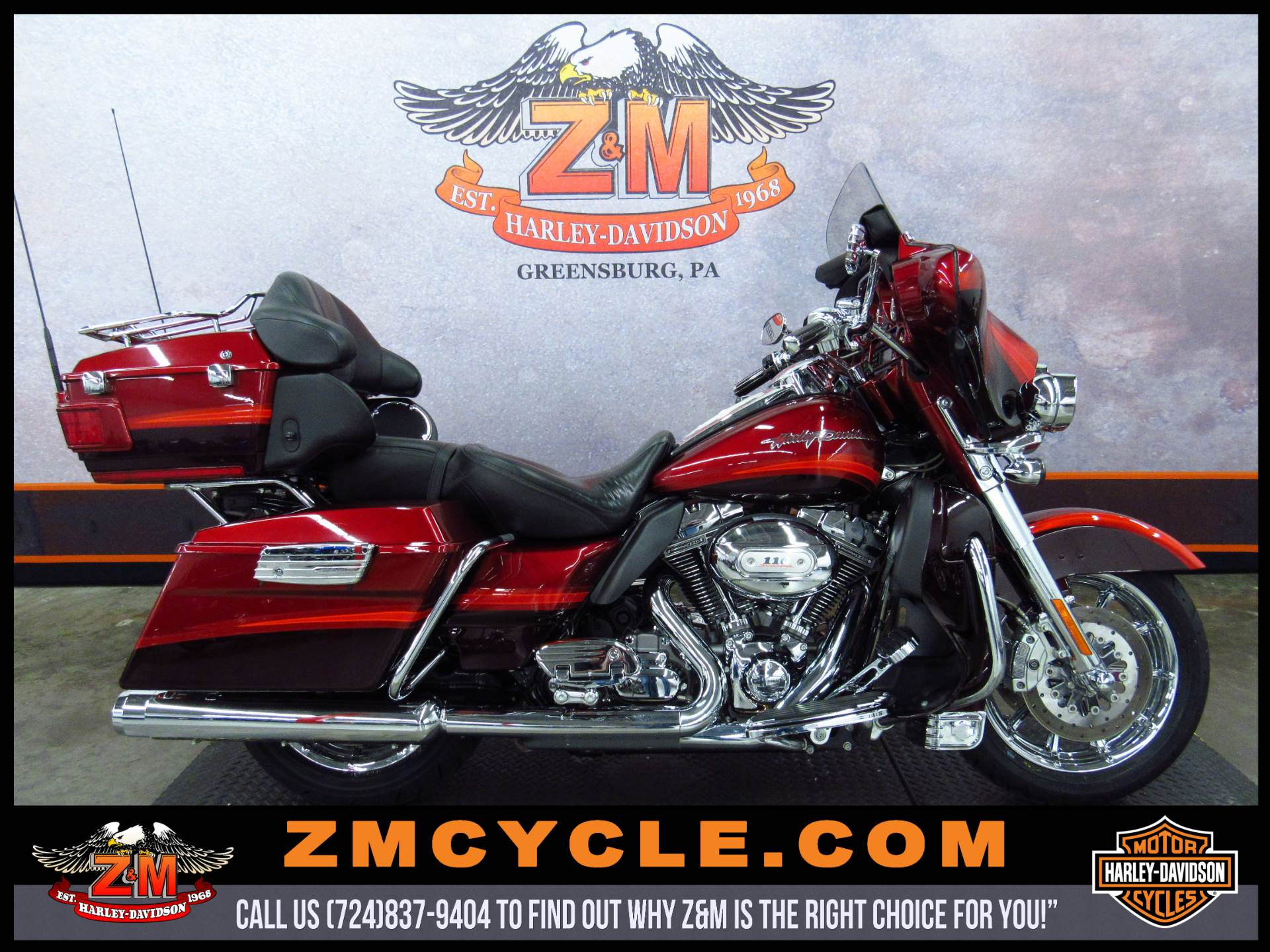 2009 Harley-Davidson CVO™ Ultra Classic® Electra Glide® Motorcycles ...