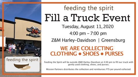 Fill a Truck for Feeding the Spirit