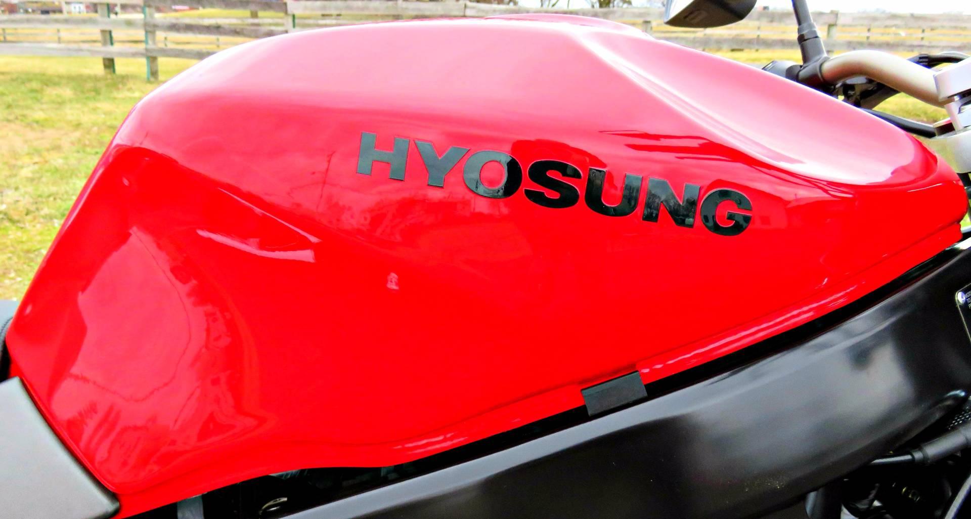 2016 Hyosung GT250 COMET in Marengo, Illinois