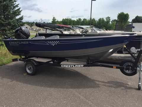 2018 Crestliner 1450 Discovery Tiller in Cable, Wisconsin