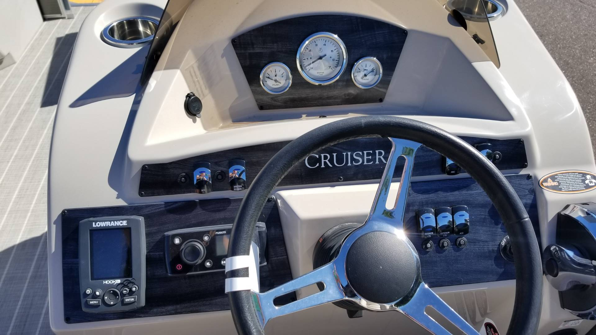 2018 Harris Cruiser 180 in Cable, Wisconsin - Photo 9