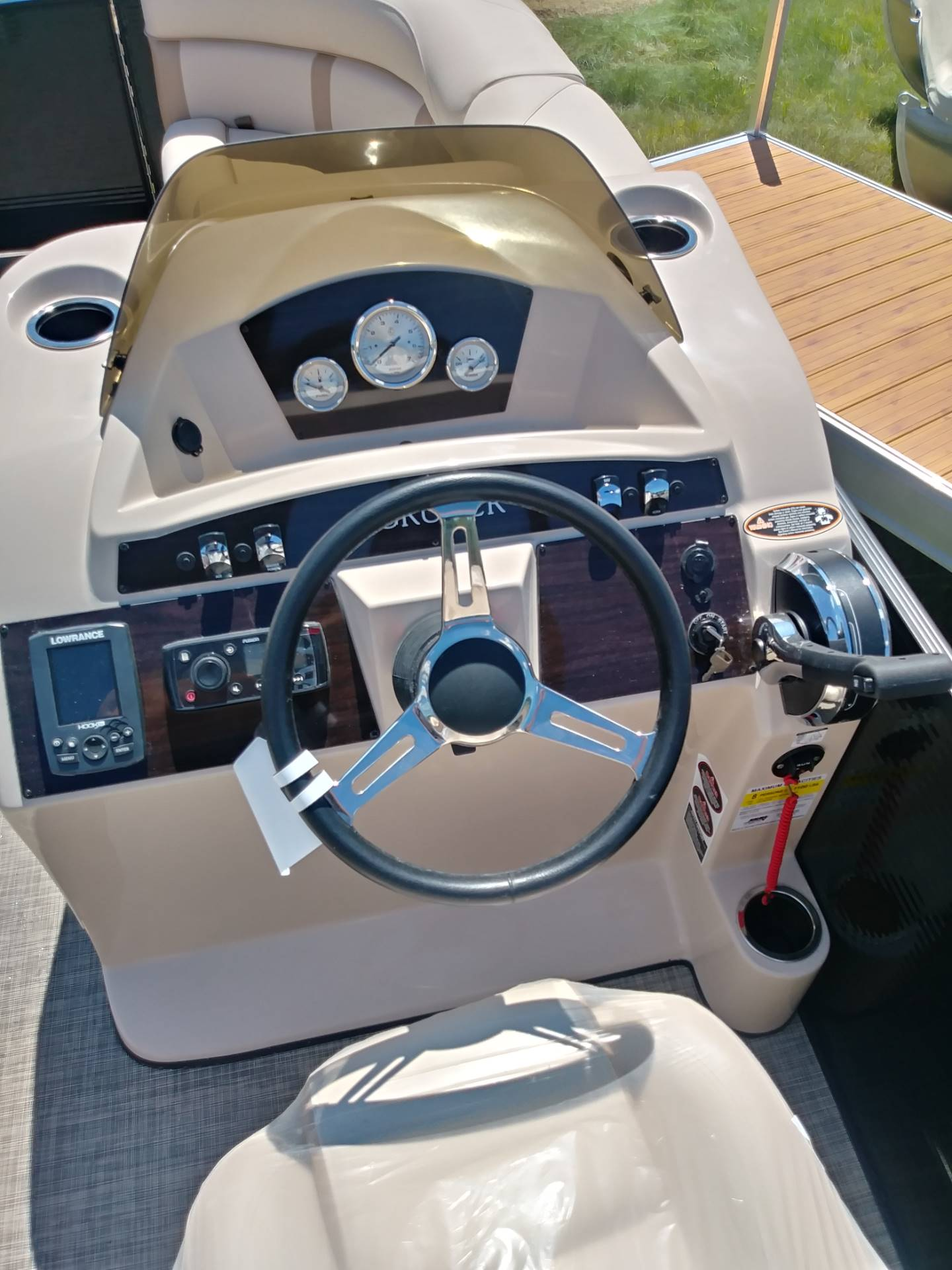2018 Harris Cruiser 180 in Cable, Wisconsin