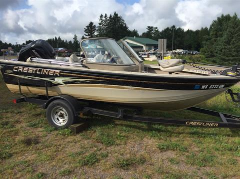2003 Crestliner 1600 O/B in Cable, Wisconsin
