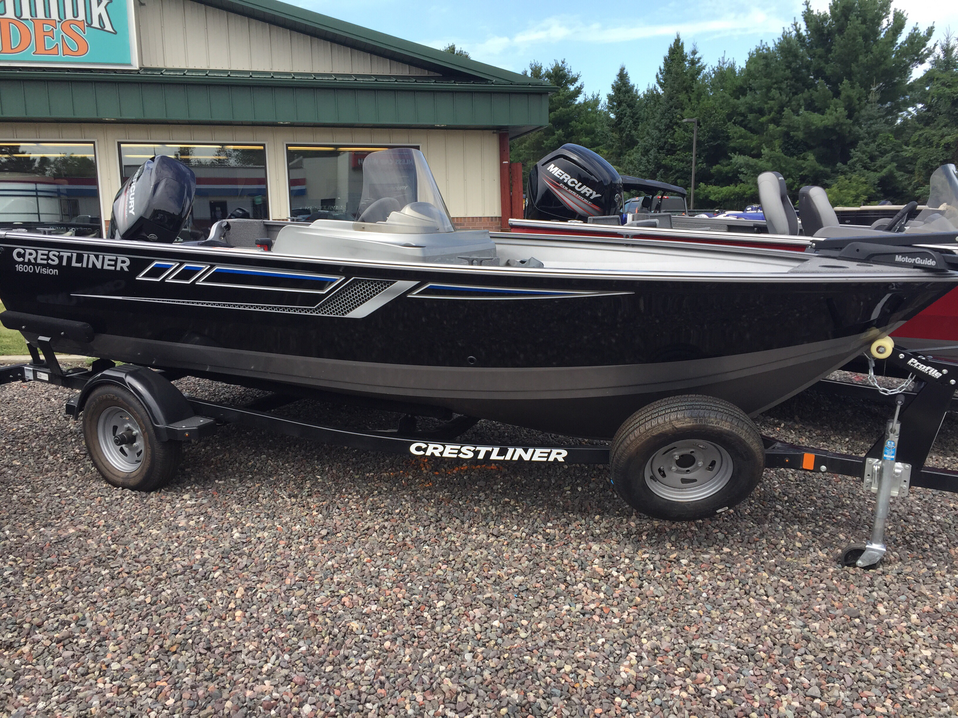 2017 Crestliner 1600 Vision in Cable, Wisconsin - Photo 1