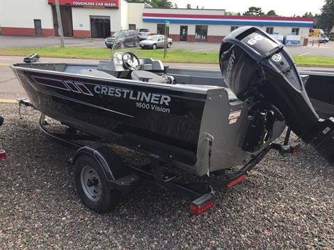 2017 Crestliner 1600 Vision in Cable, Wisconsin - Photo 2