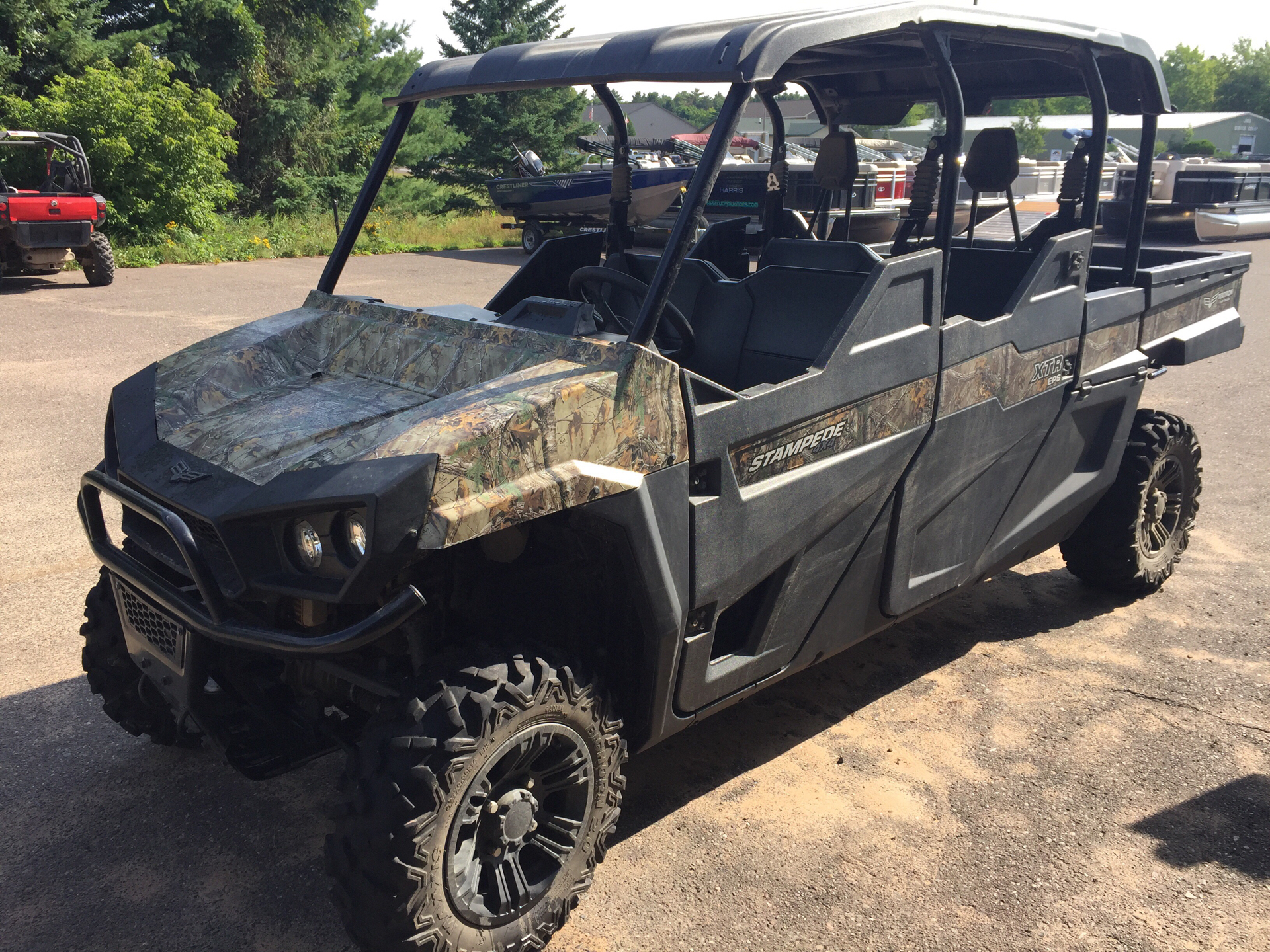 2017 Bad Boy Off Road Stampede XTR EPS in Cable, Wisconsin