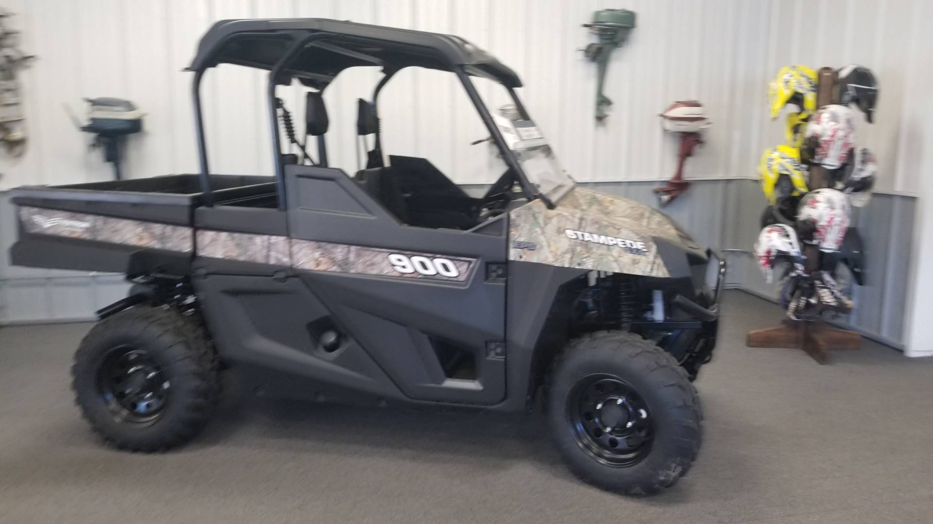 2017 Bad Boy Off Road Stampede EPS Camo in Cable, Wisconsin