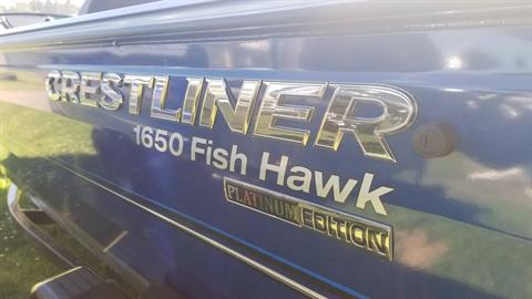 2018 Crestliner 1650 Fish Hawk SC in Cable, Wisconsin