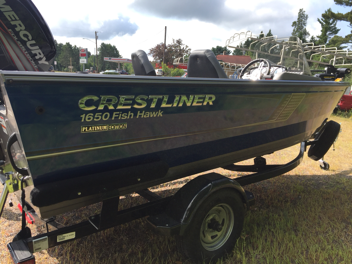 2018 Crestliner 1650 Fish Hawk SC in Cable, Wisconsin - Photo 12