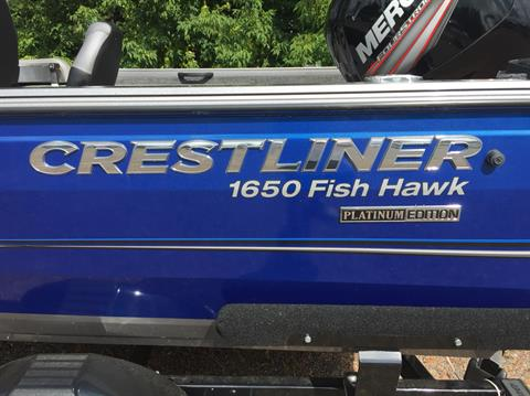 2018 Crestliner 1650 Fish Hawk SC in Cable, Wisconsin - Photo 16