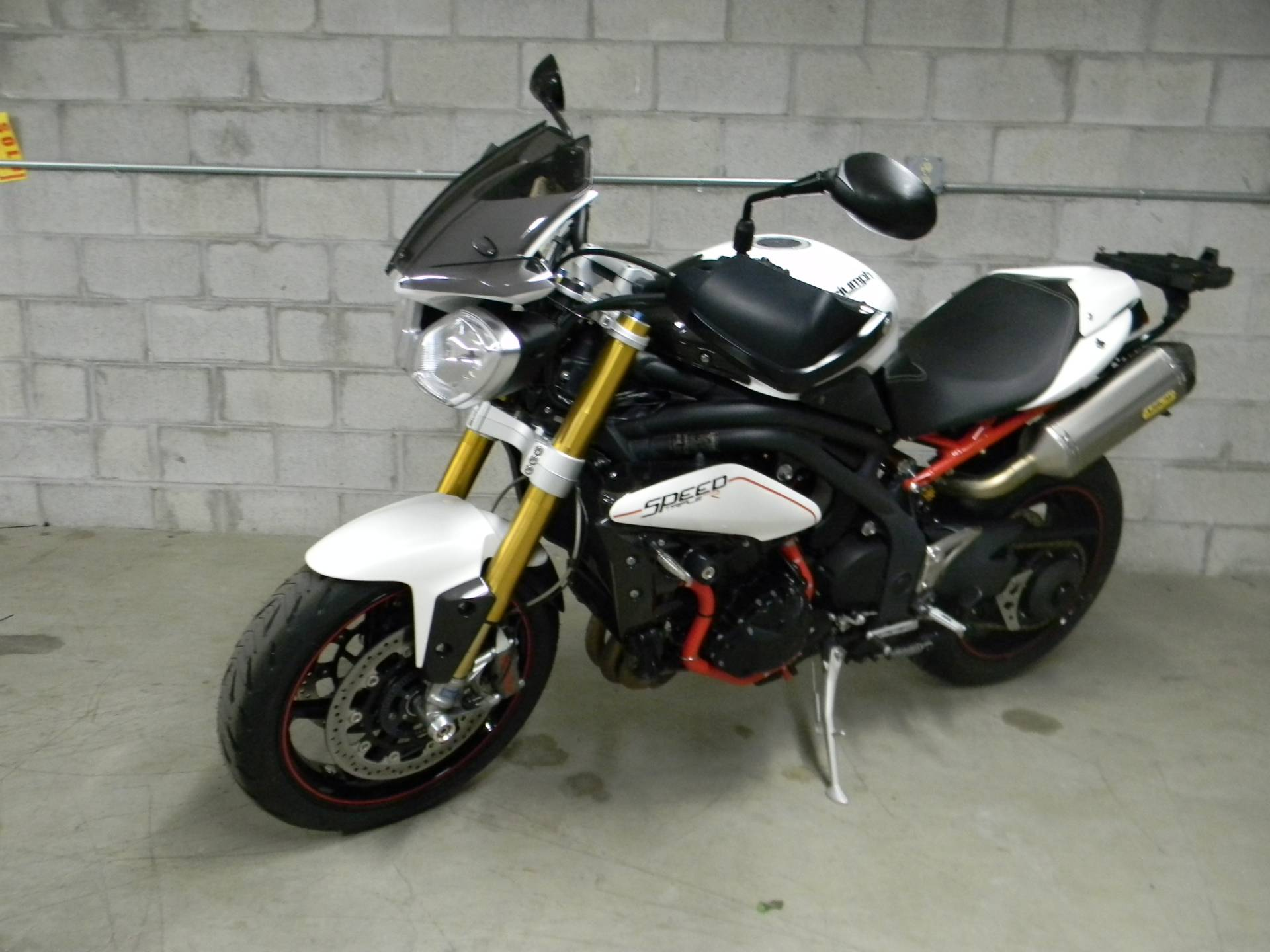 2013 Triumph Speed Triple R ABS in Springfield, Massachusetts - Photo 4