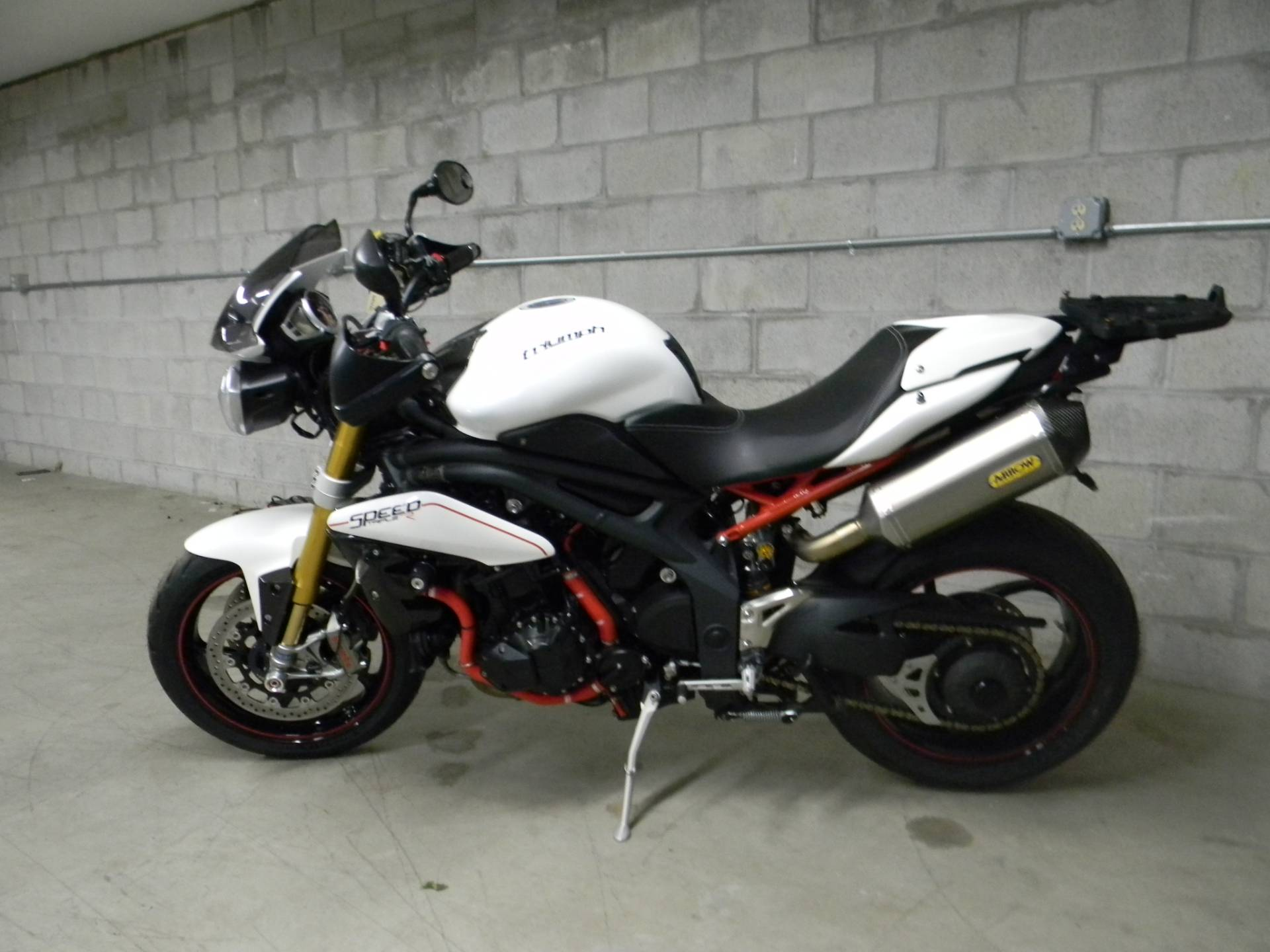 2013 Triumph Speed Triple R ABS in Springfield, Massachusetts - Photo 5