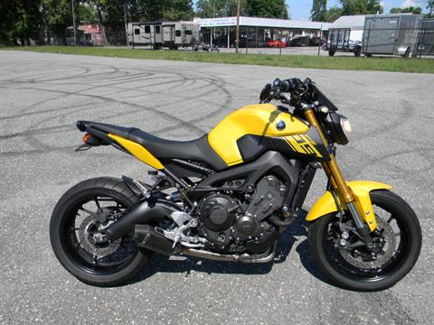 2015 Yamaha FZ-09 in Springfield, Massachusetts - Photo 1