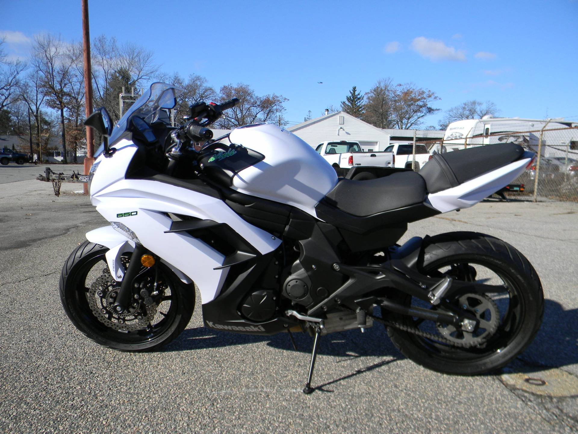 2015 Kawasaki Ninja® 650 ABS in Springfield, Massachusetts