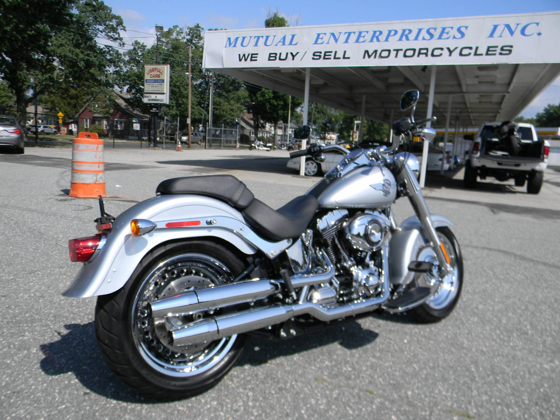 2014 Harley-Davidson Fat Boy® in Springfield, Massachusetts