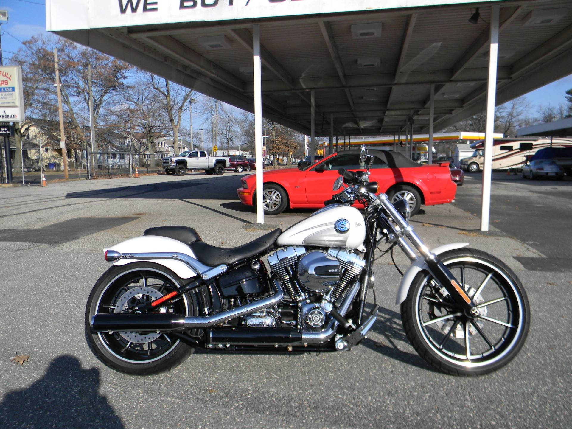 2016 Harley-Davidson Breakout® in Springfield, Massachusetts - Photo 1