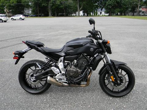 2016 Yamaha FZ-07 in Springfield, Massachusetts